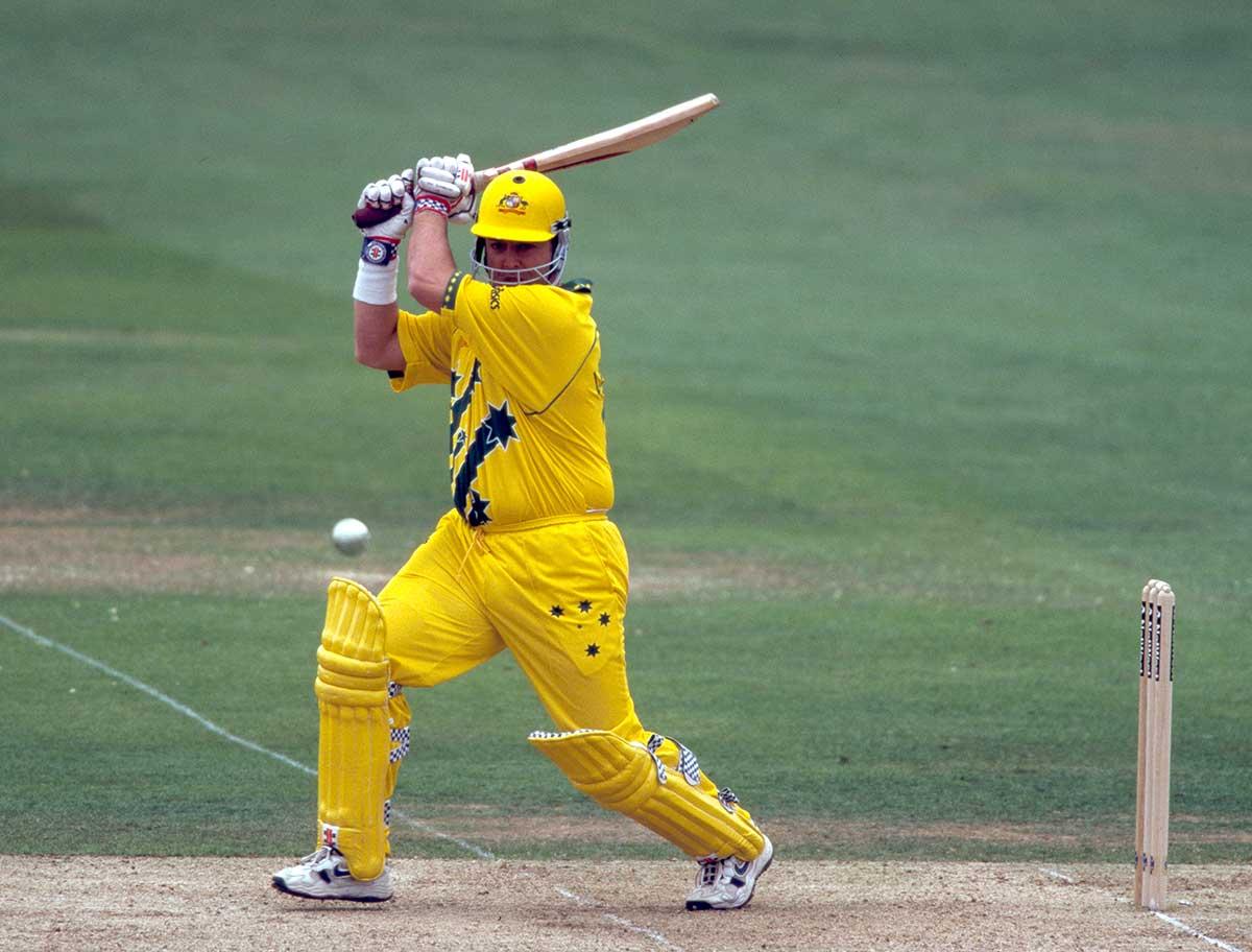 Darren Lehmann hit the winning runs in 1999