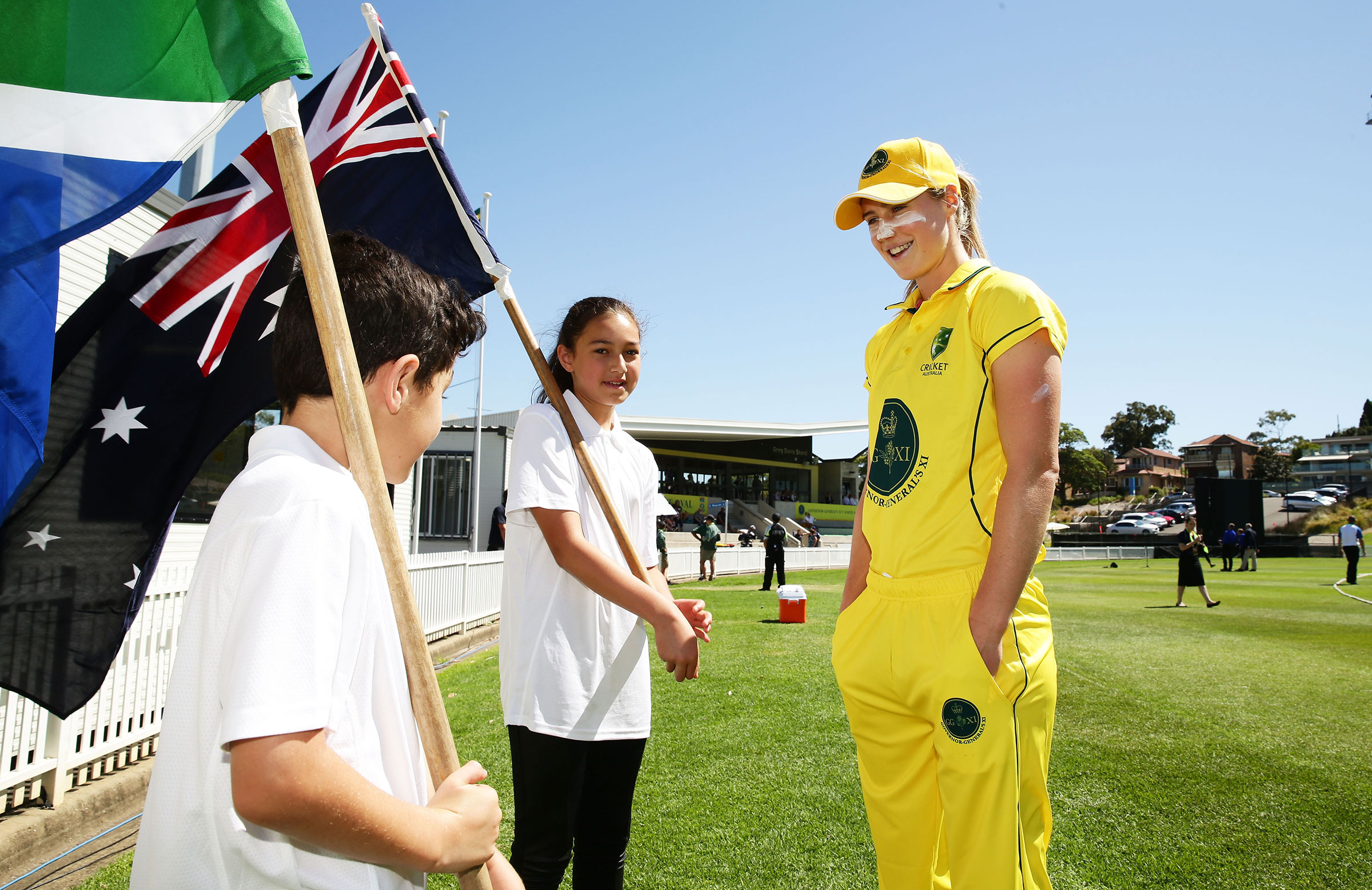 Perry has long inspired the next generations of Australian cricketers // Getty