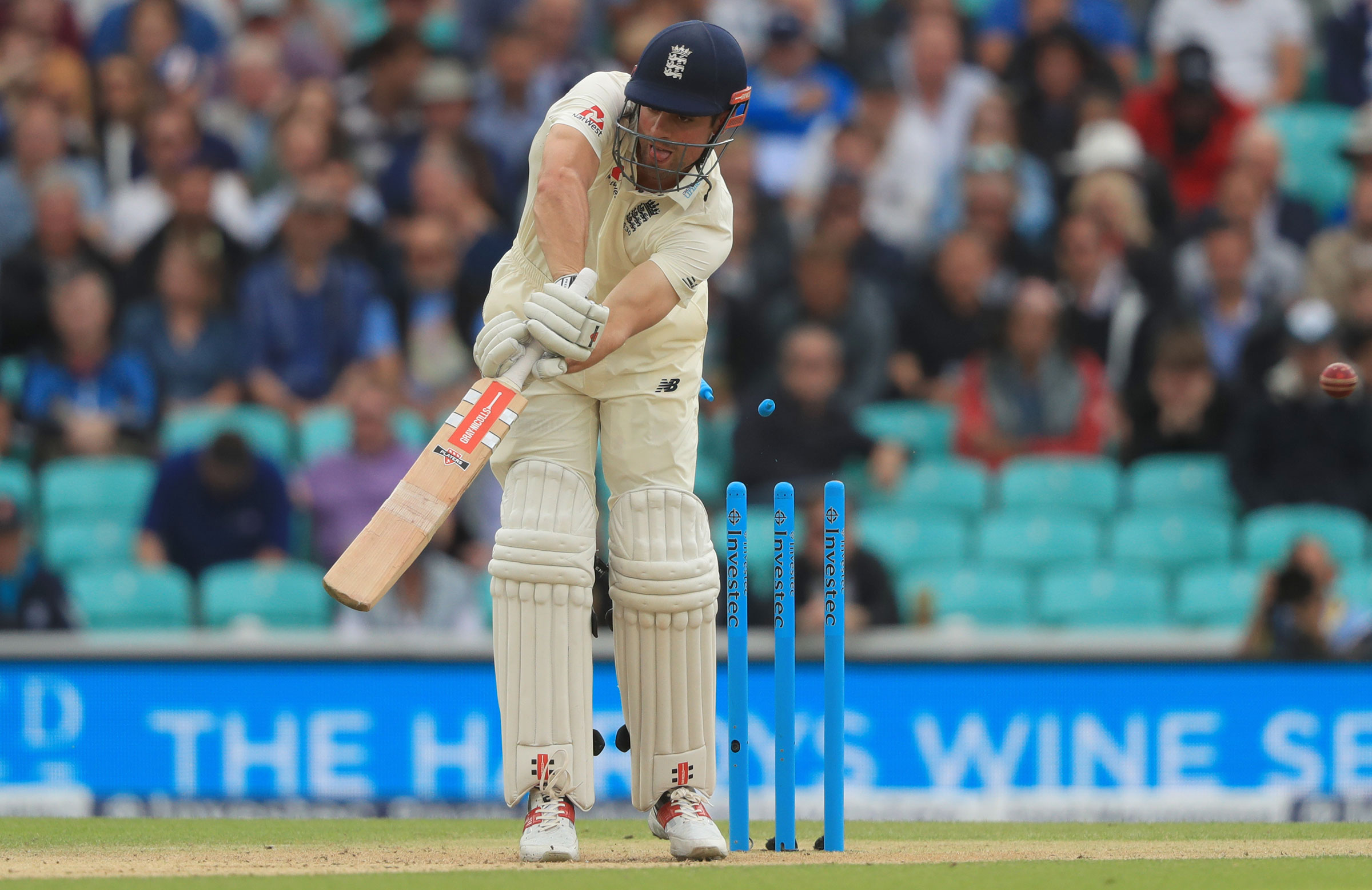 Cook is undone by a beauty from Morkel // Getty Images