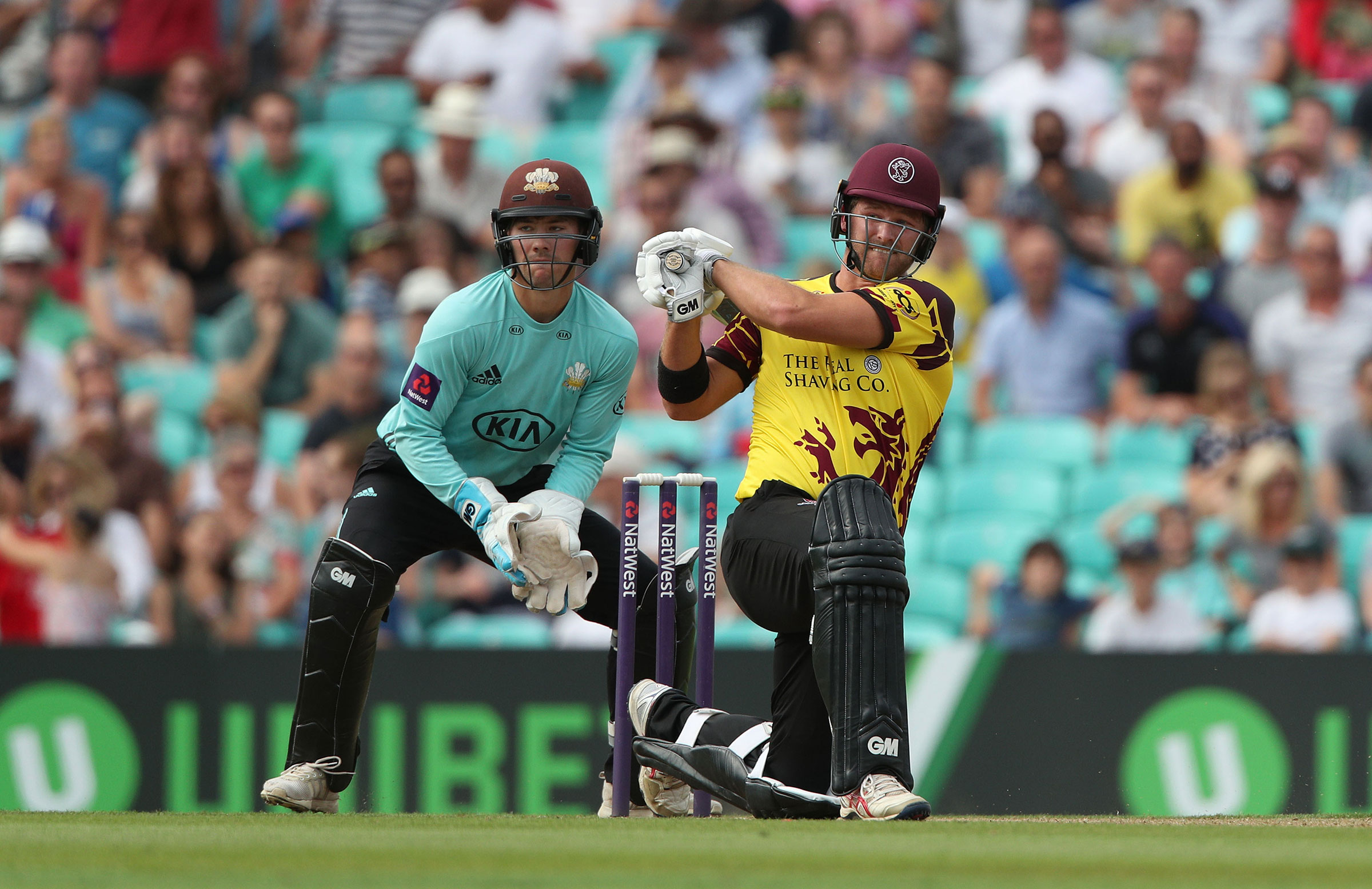 Corey Anderson in action for Somerset // Getty