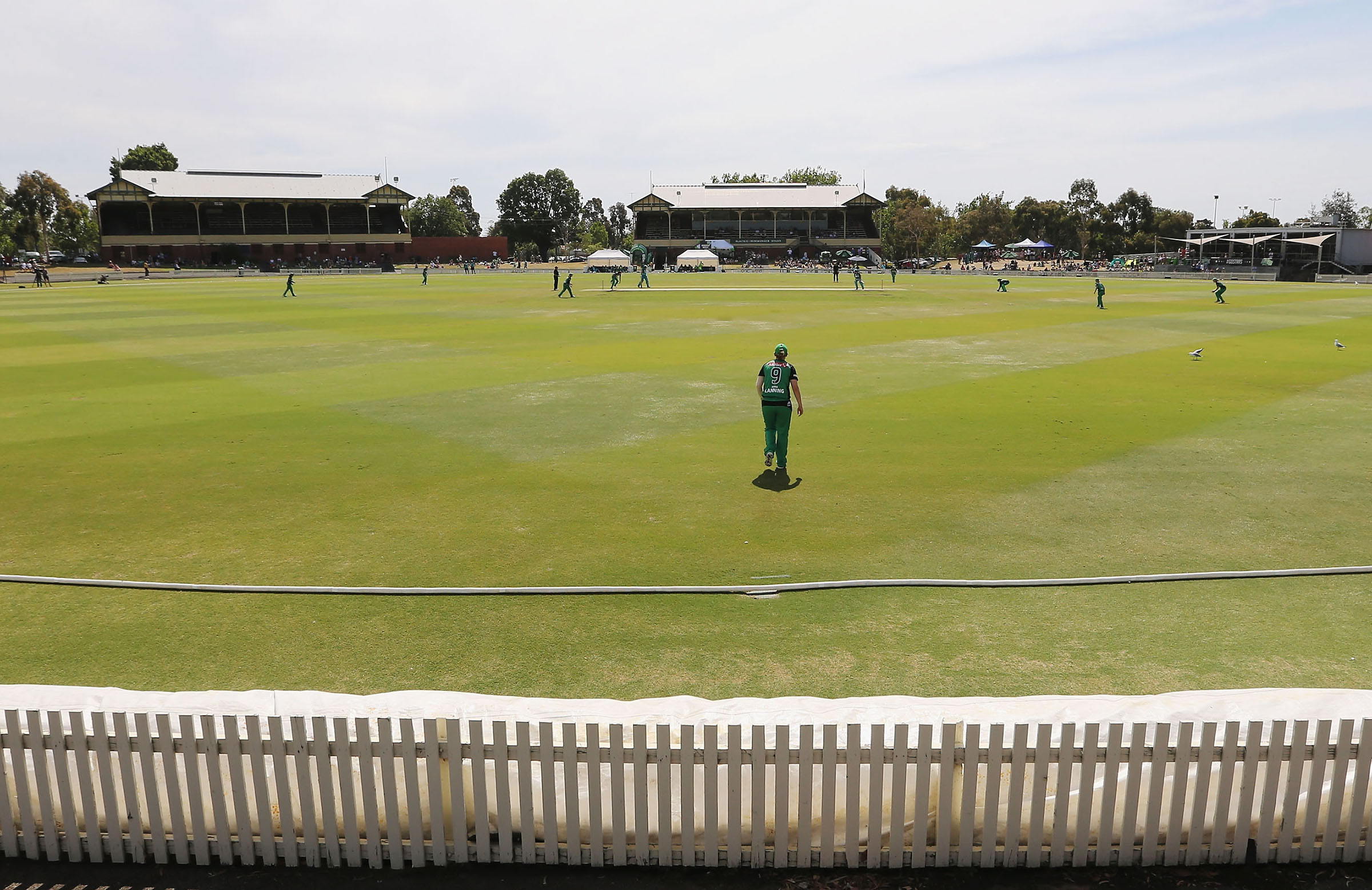 Junction Oval will host first-class cricket again this summer // Getty