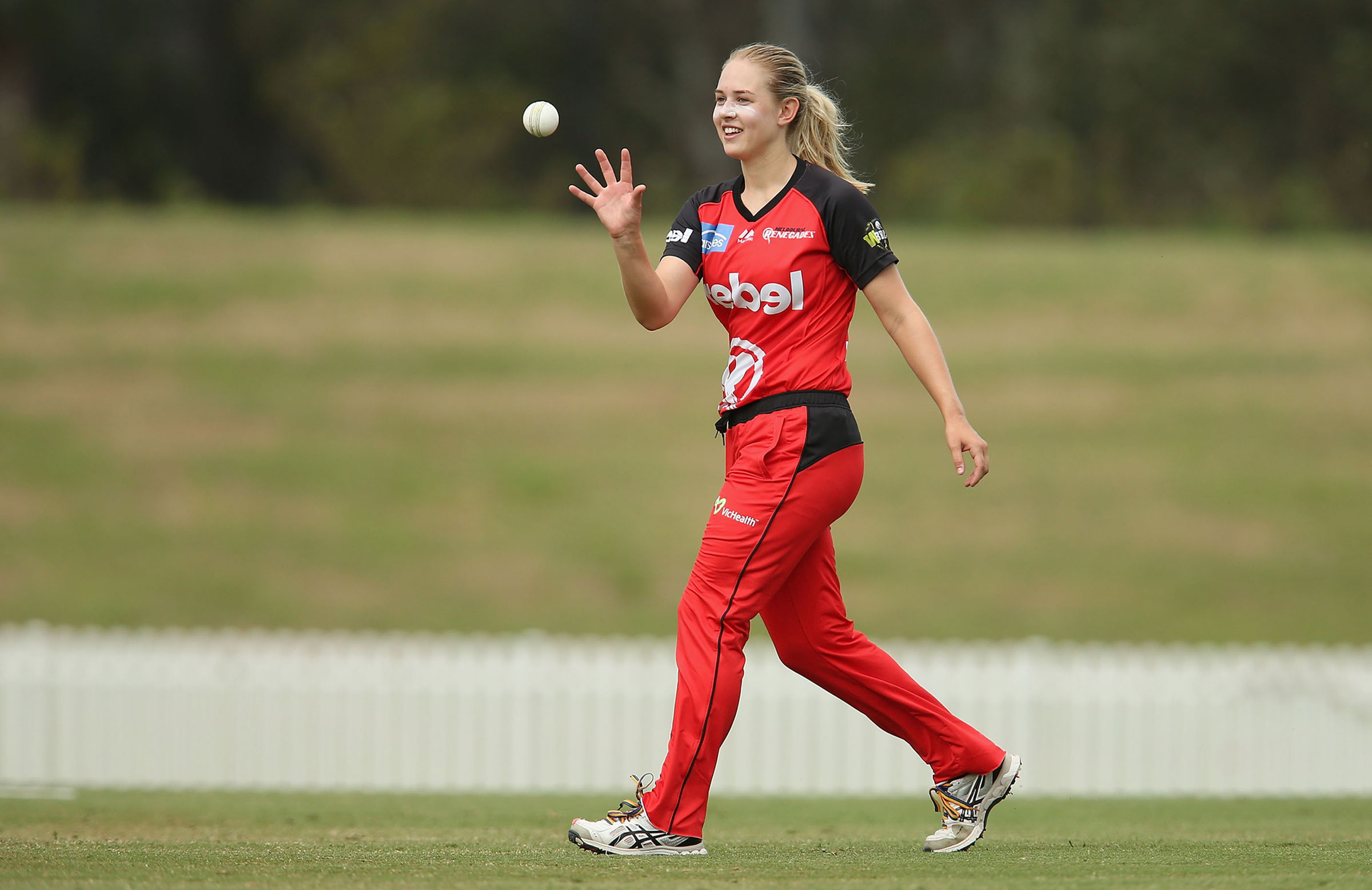 Maitlan Brown played for the Renegades in WBBL|02 // Getty