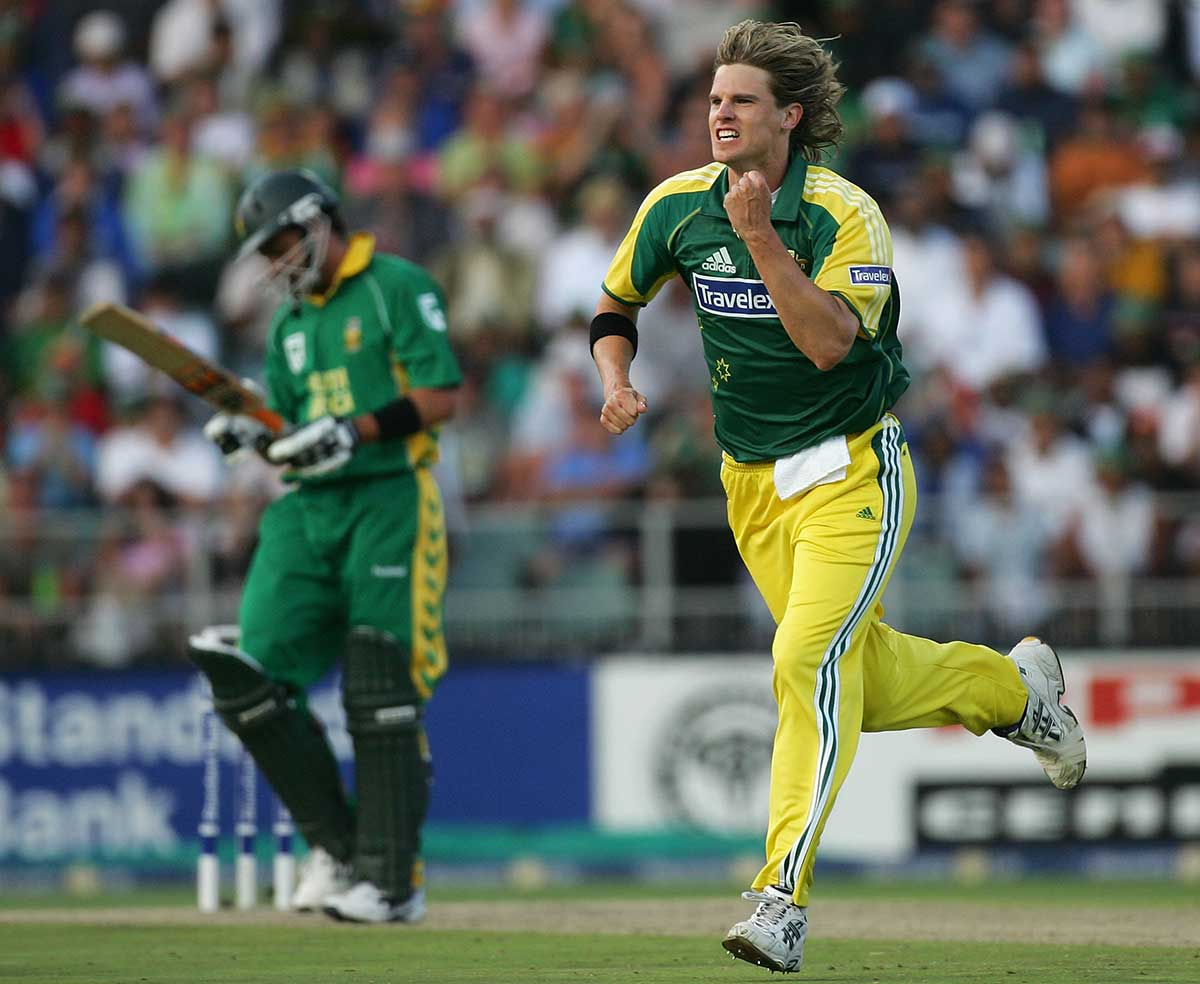 Bracken collected 5-67 for the Australians // Getty