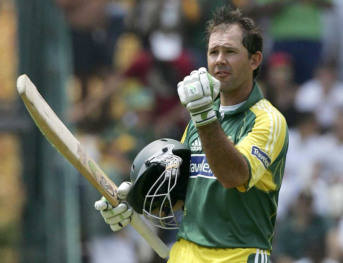 Ponting hit an ODI career-high 164 in the match // Getty