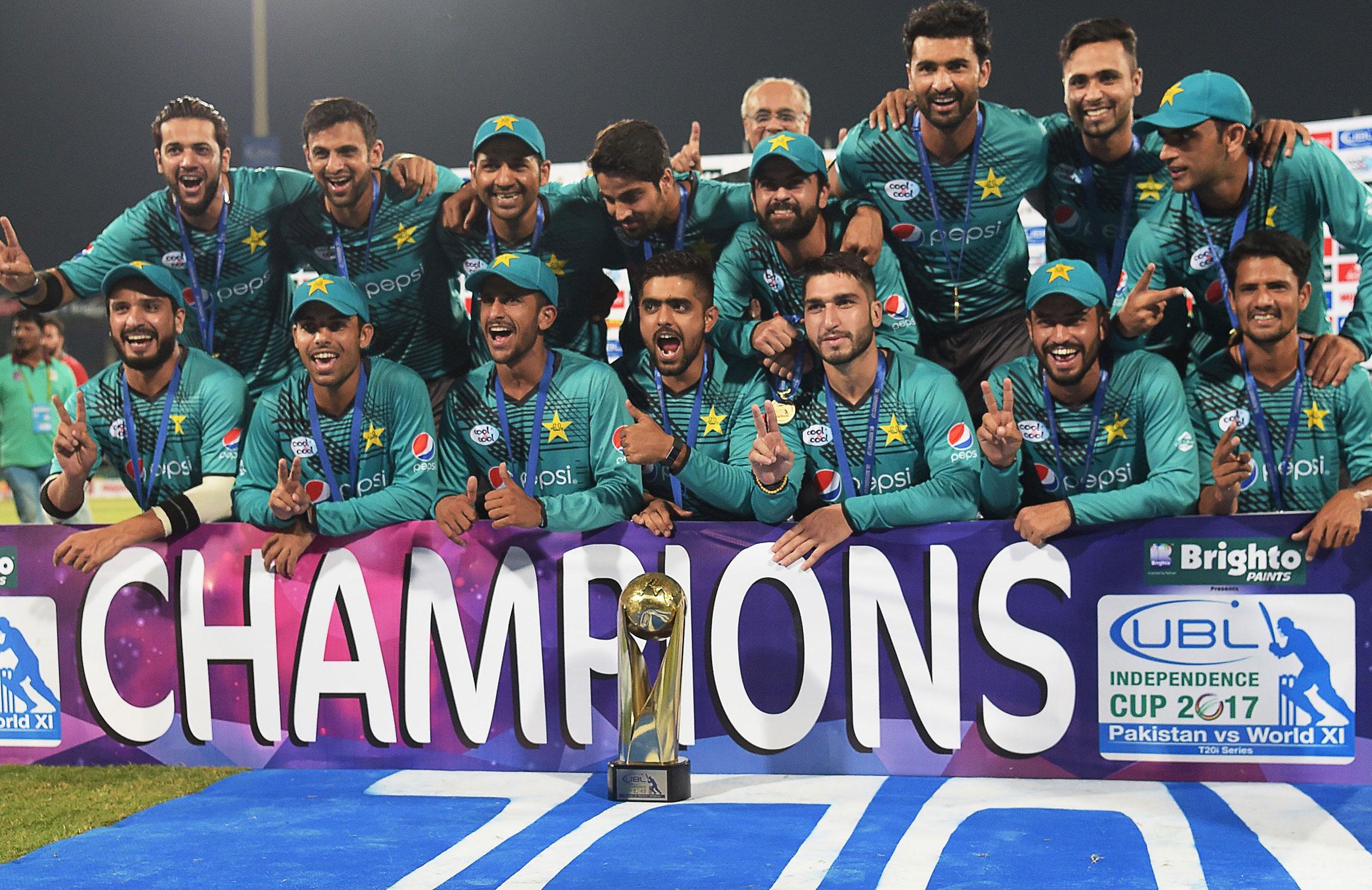 Pakistan won the series 2-1 // Getty