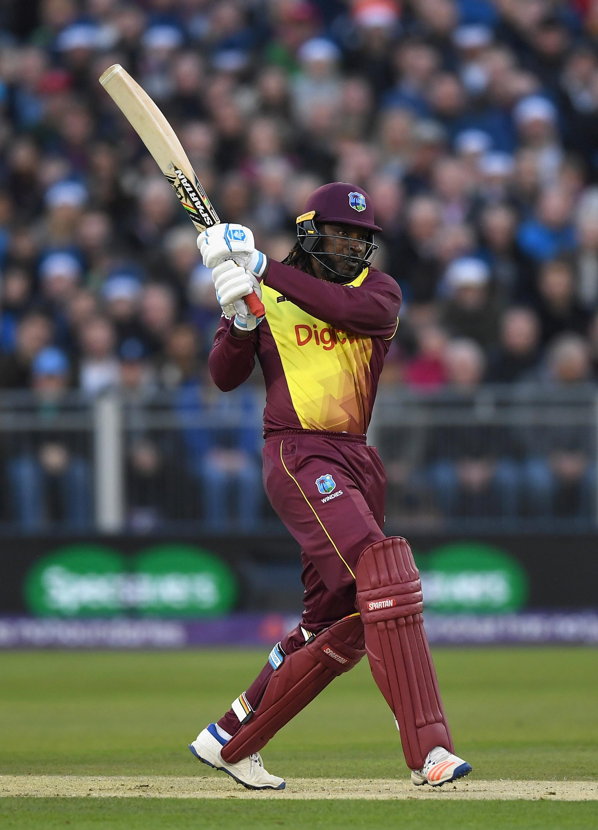Four sixes for Gayle // Getty