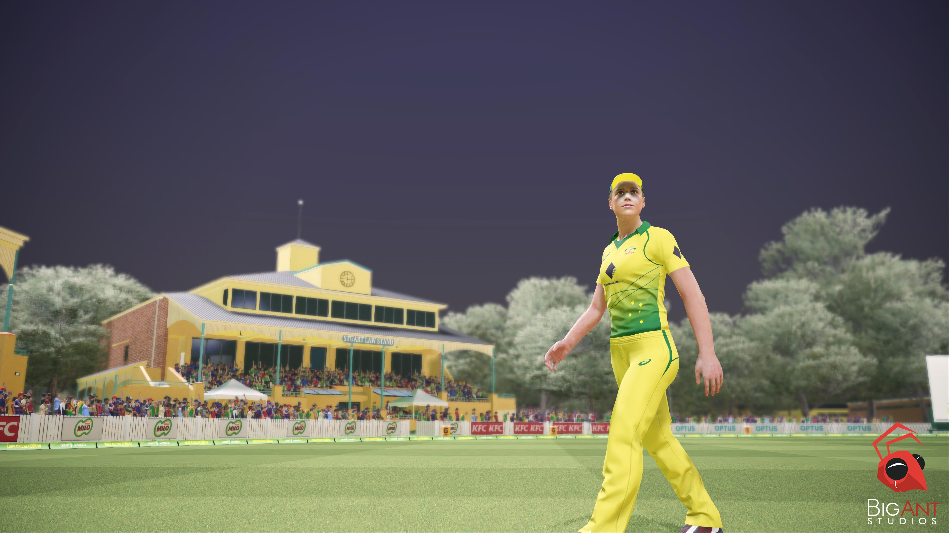 Fans can play as Ellyse Perry and the Australian Women's Cricket Team // Big Ant Studios