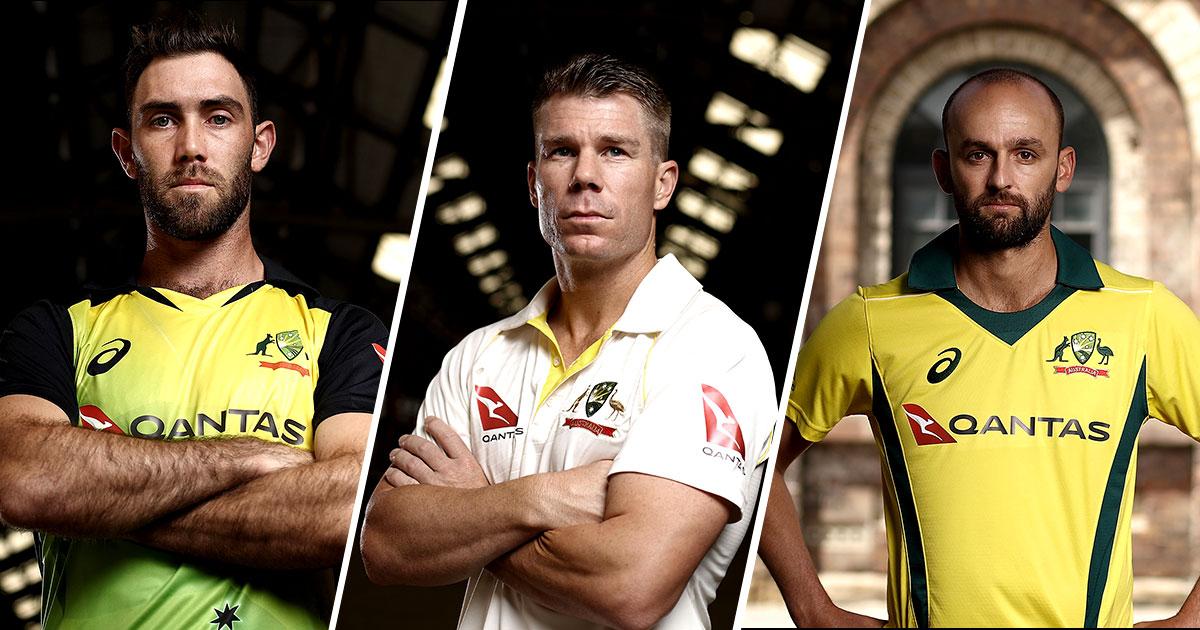 Australia's new T20, Test and ODI uniforms // Getty