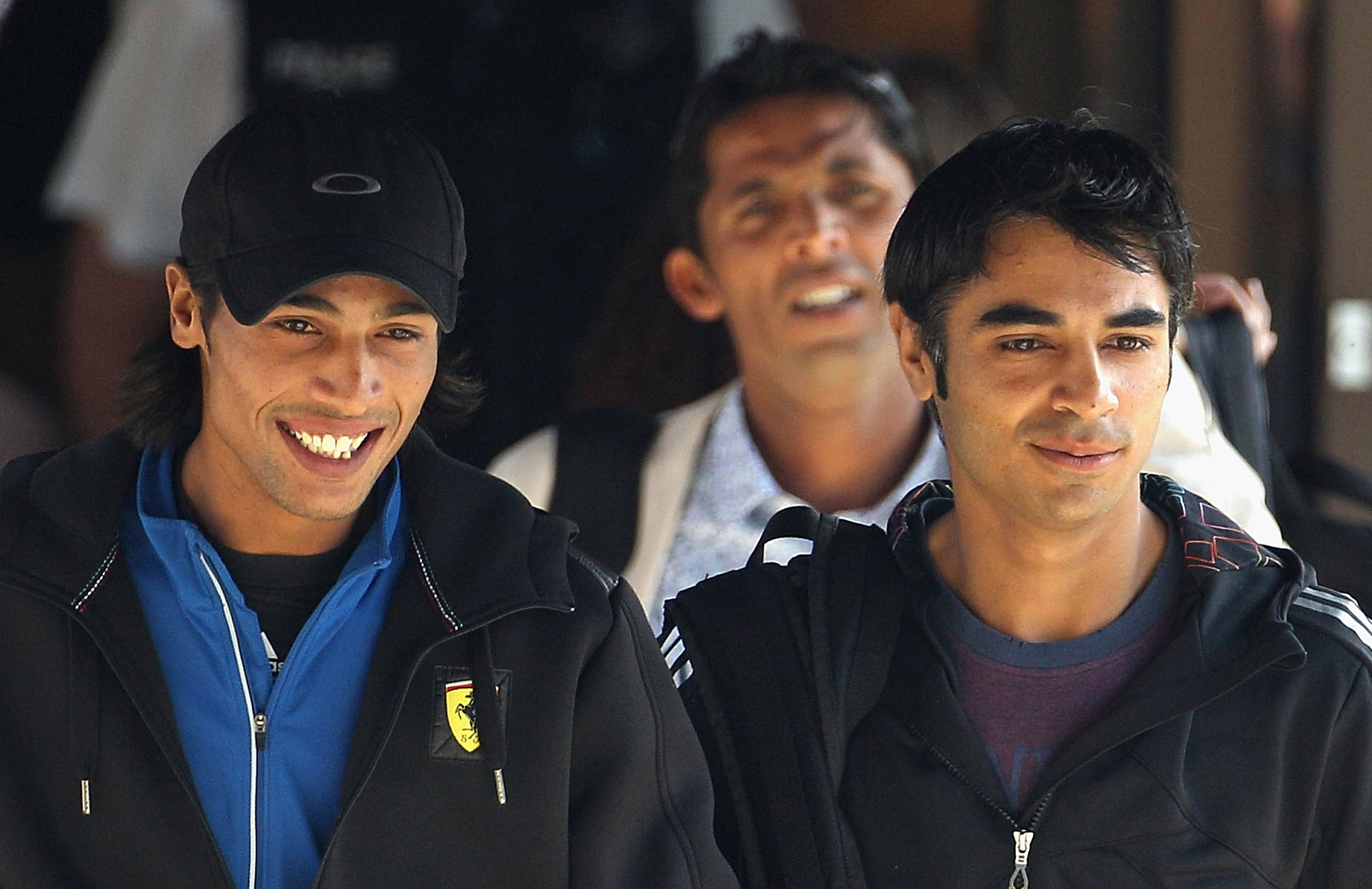 Mohammad Amir (l) and Butt (r) were convicted of spot-fixing in 2010 // Getty