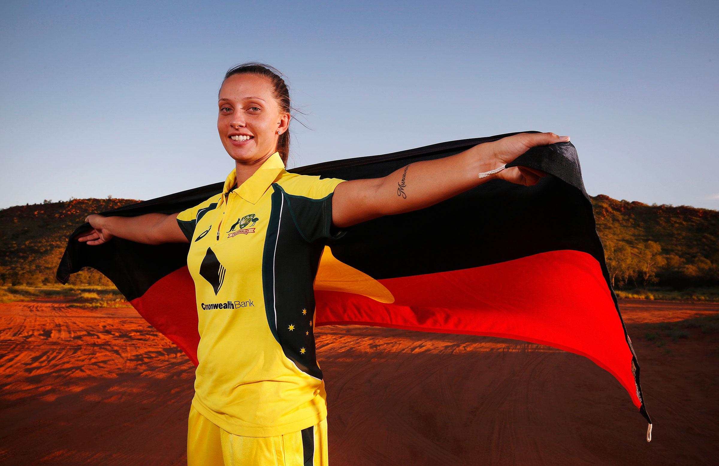 Gardner is Australia's indigenous captain // Getty
