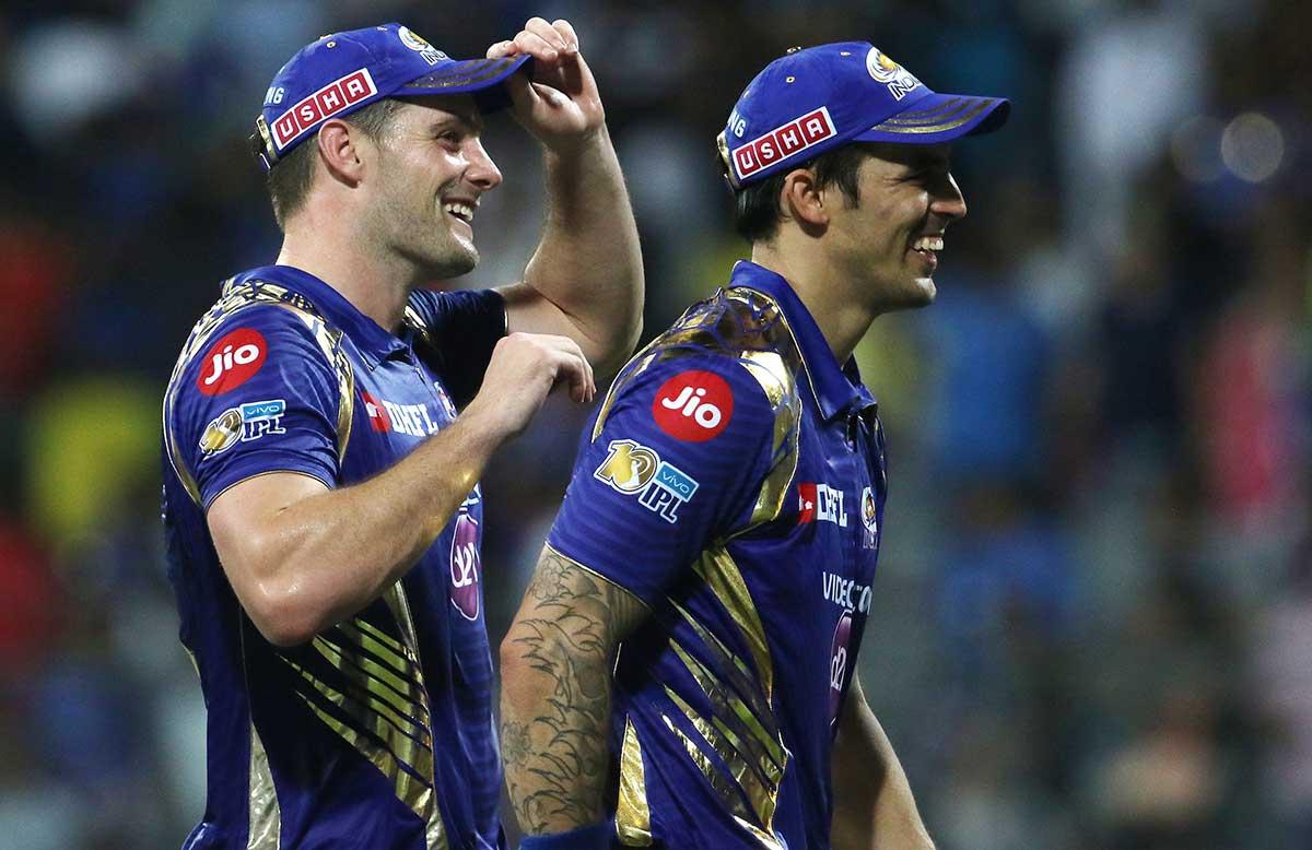 McClenaghan and Johnson bonded at Mumbai // BCCI