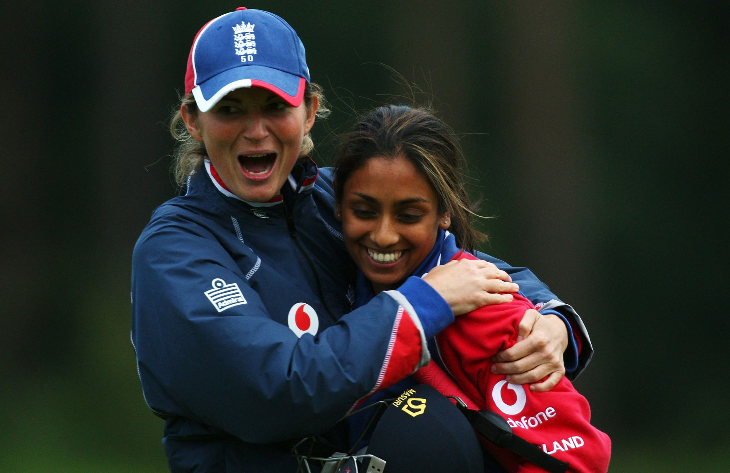 Edwards and Guha enjoyed successful careers for England // Getty