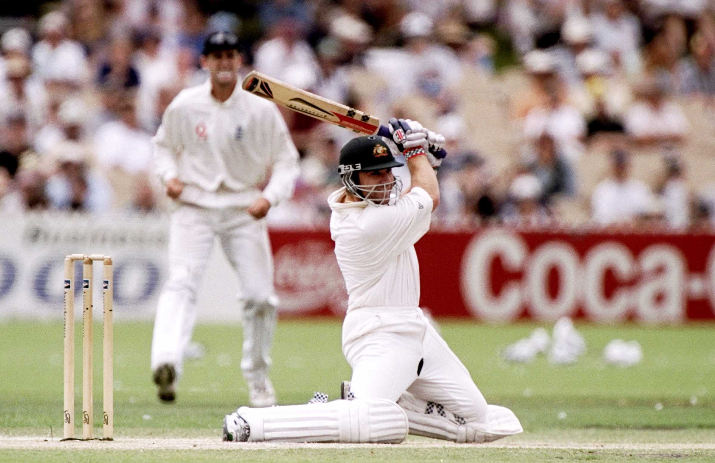 Slater at his cavalier best during the 1998-99 Ashes // Getty
