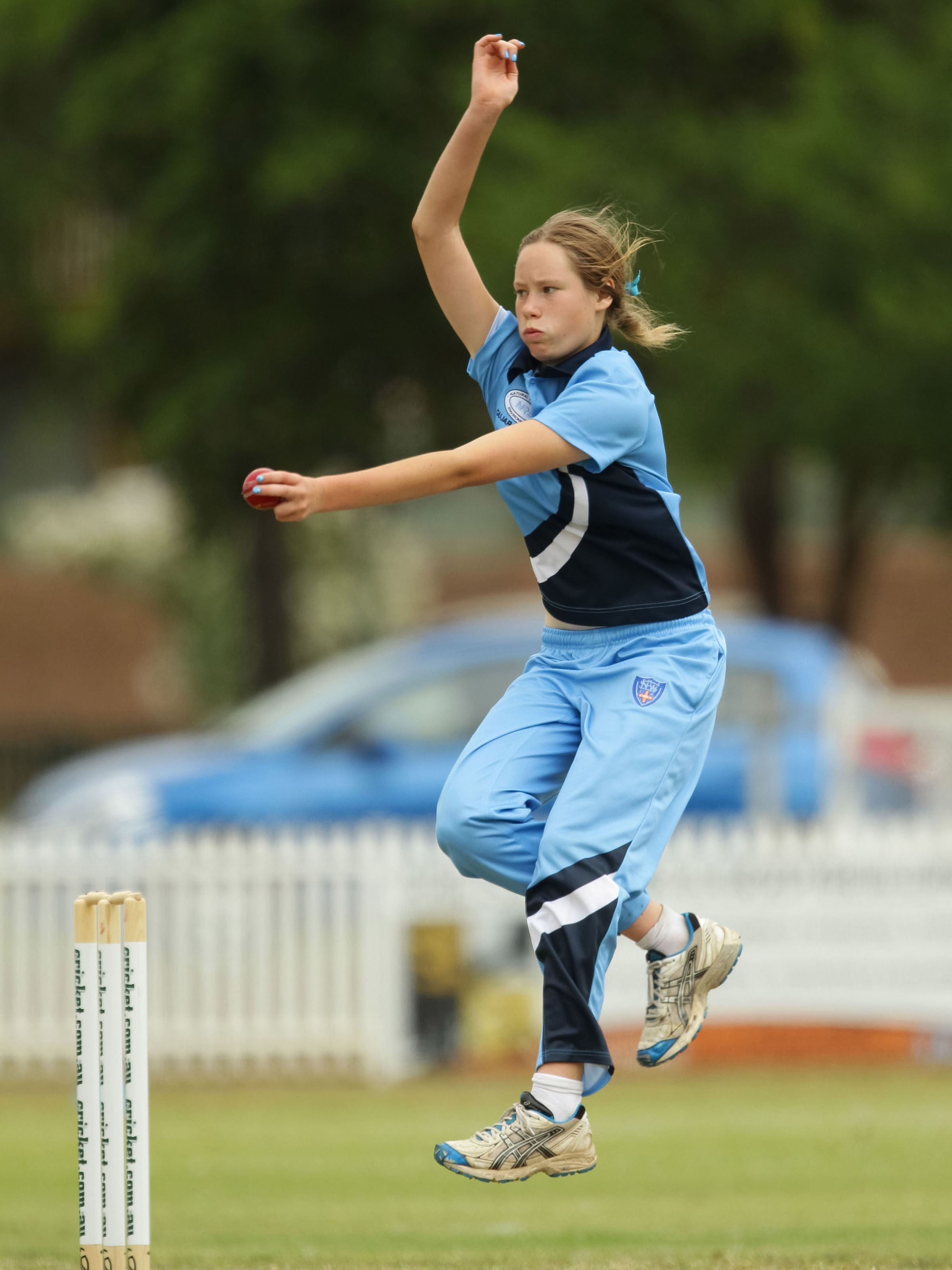 Cheatle at the Under-15 Championships in 2012 // Getty