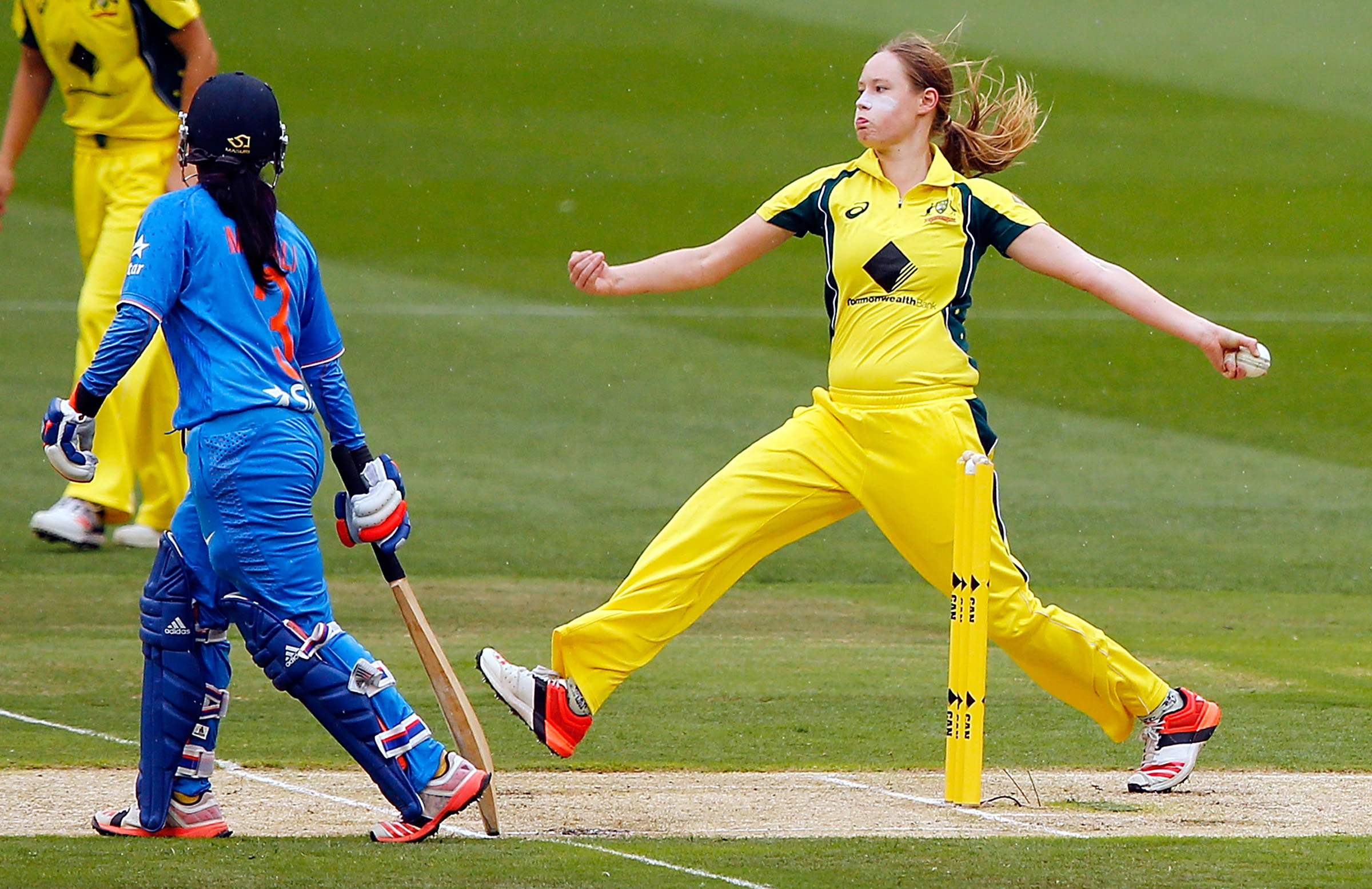 Cheatle in action against India at the MCG // Getty