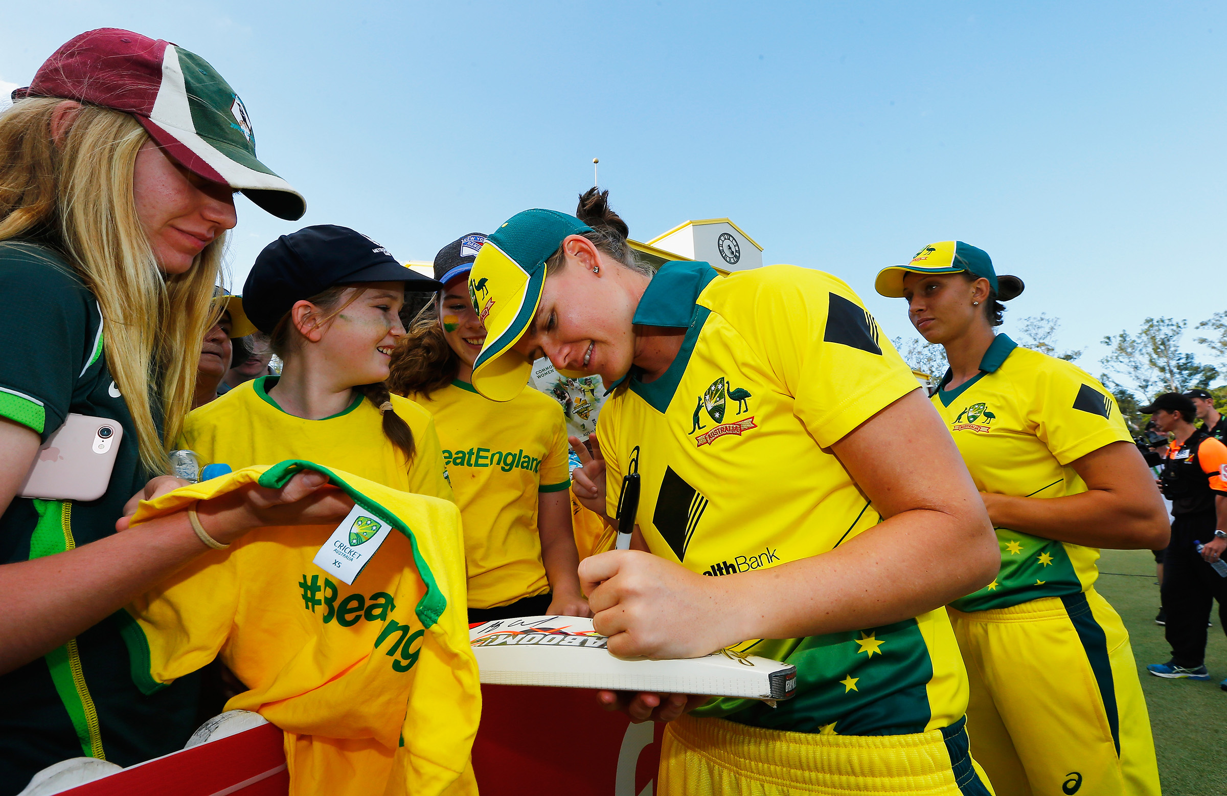 Young fans turned out in droves for the Women's Ashes // Getty
