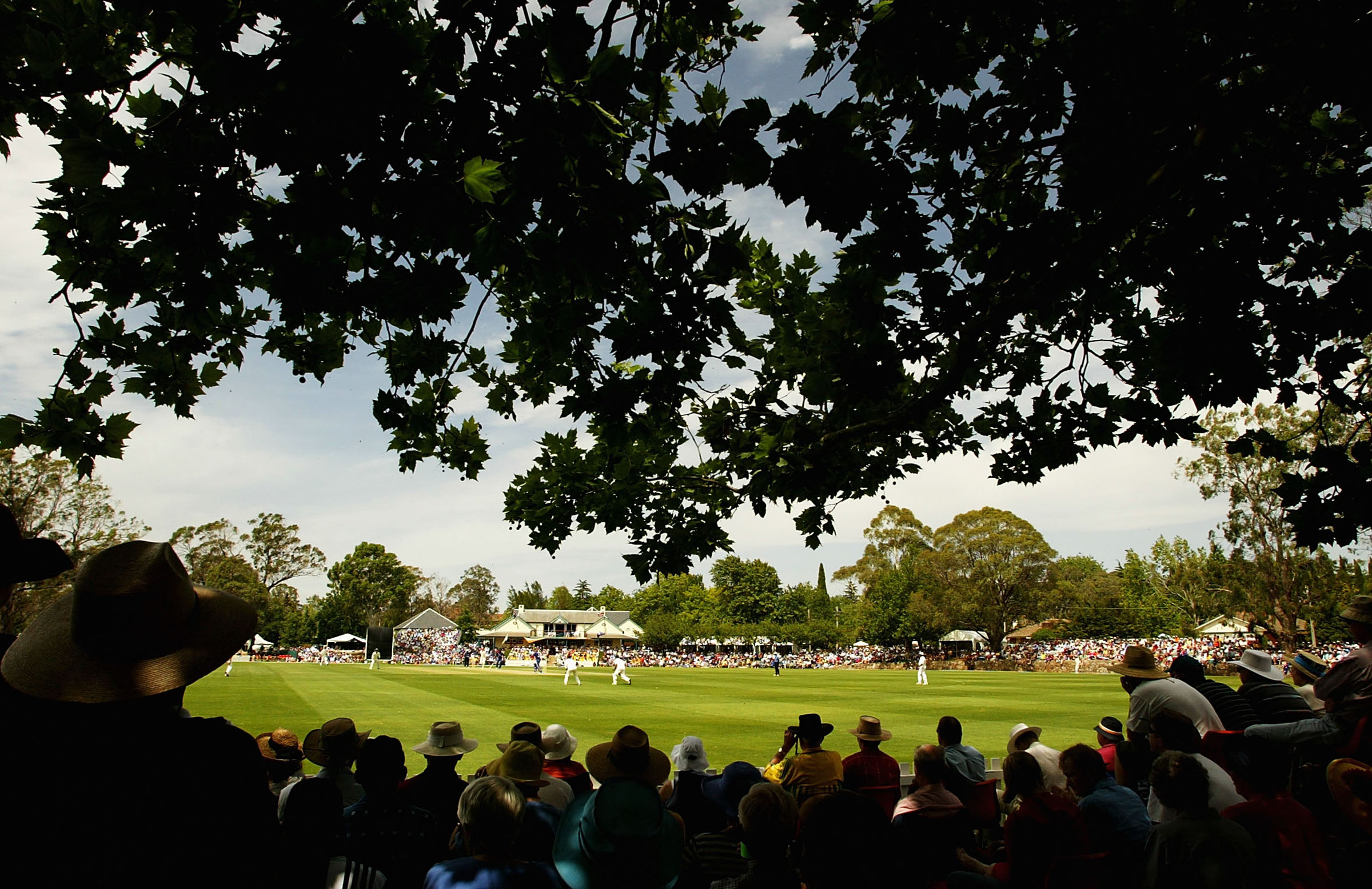 The picturesque Bradman Oval in Bowral // Getty