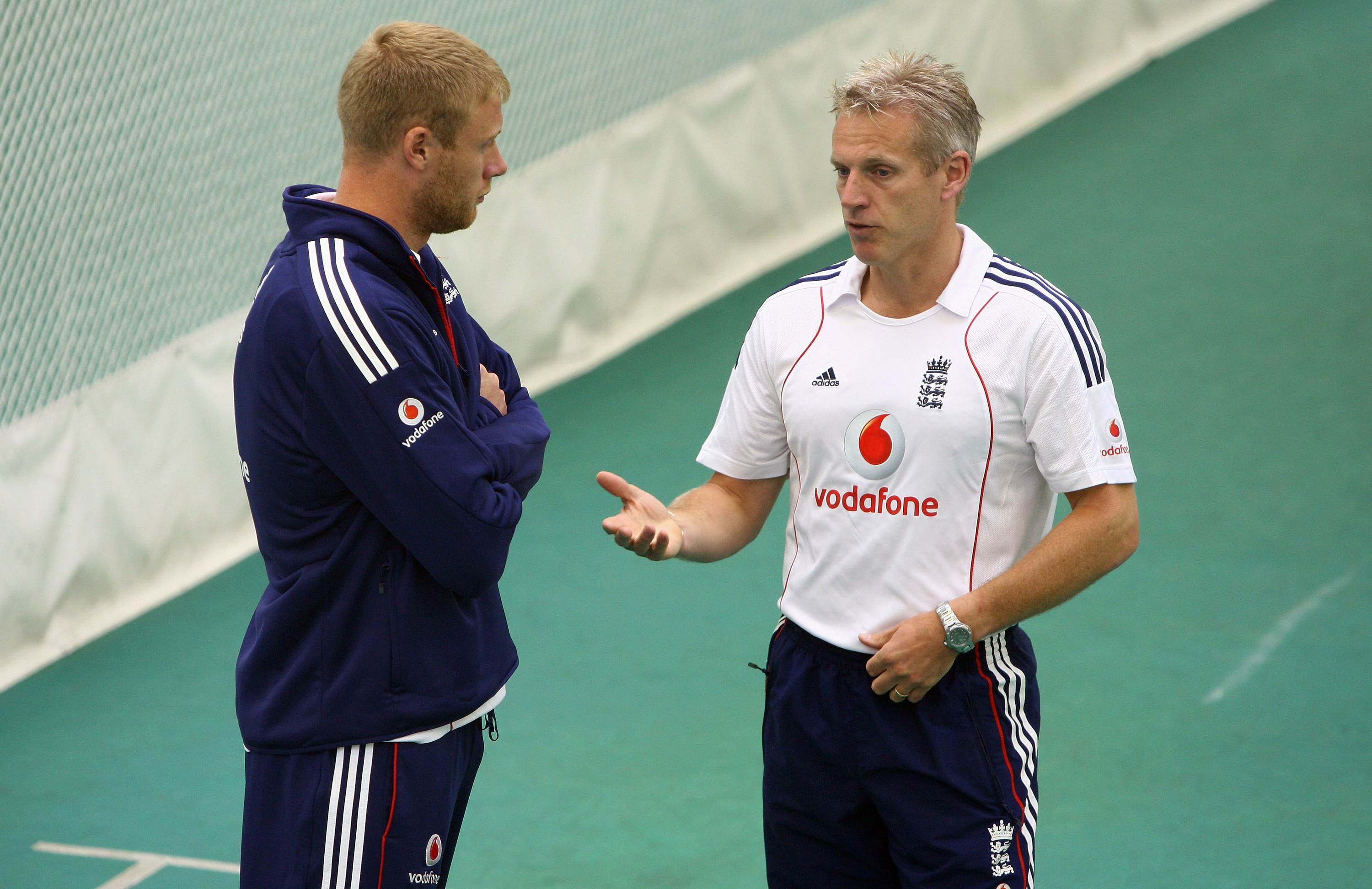 Flintoff applied for the head coach role in 2014, only to step aside for Peter Moores // Getty