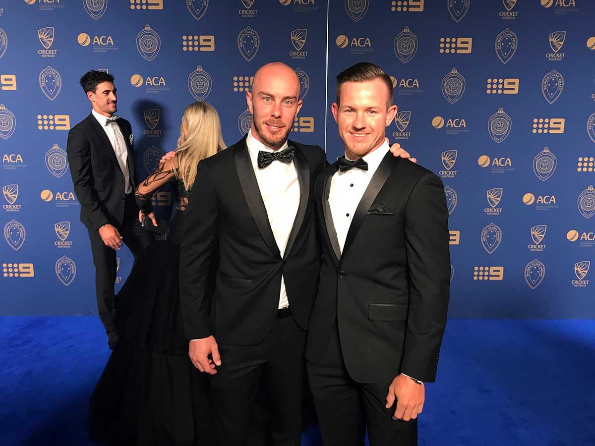 Big hitters Chris Lynn and D'Arcy Short // cricket.com.au
