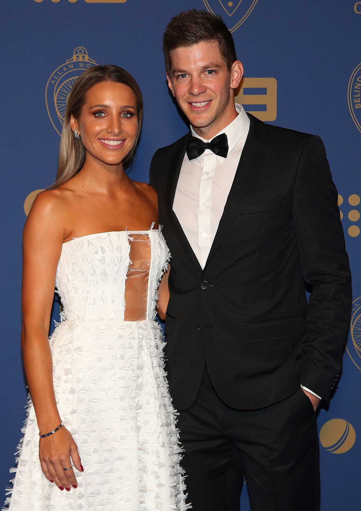 Tim Paine and wife Bonnie // Getty