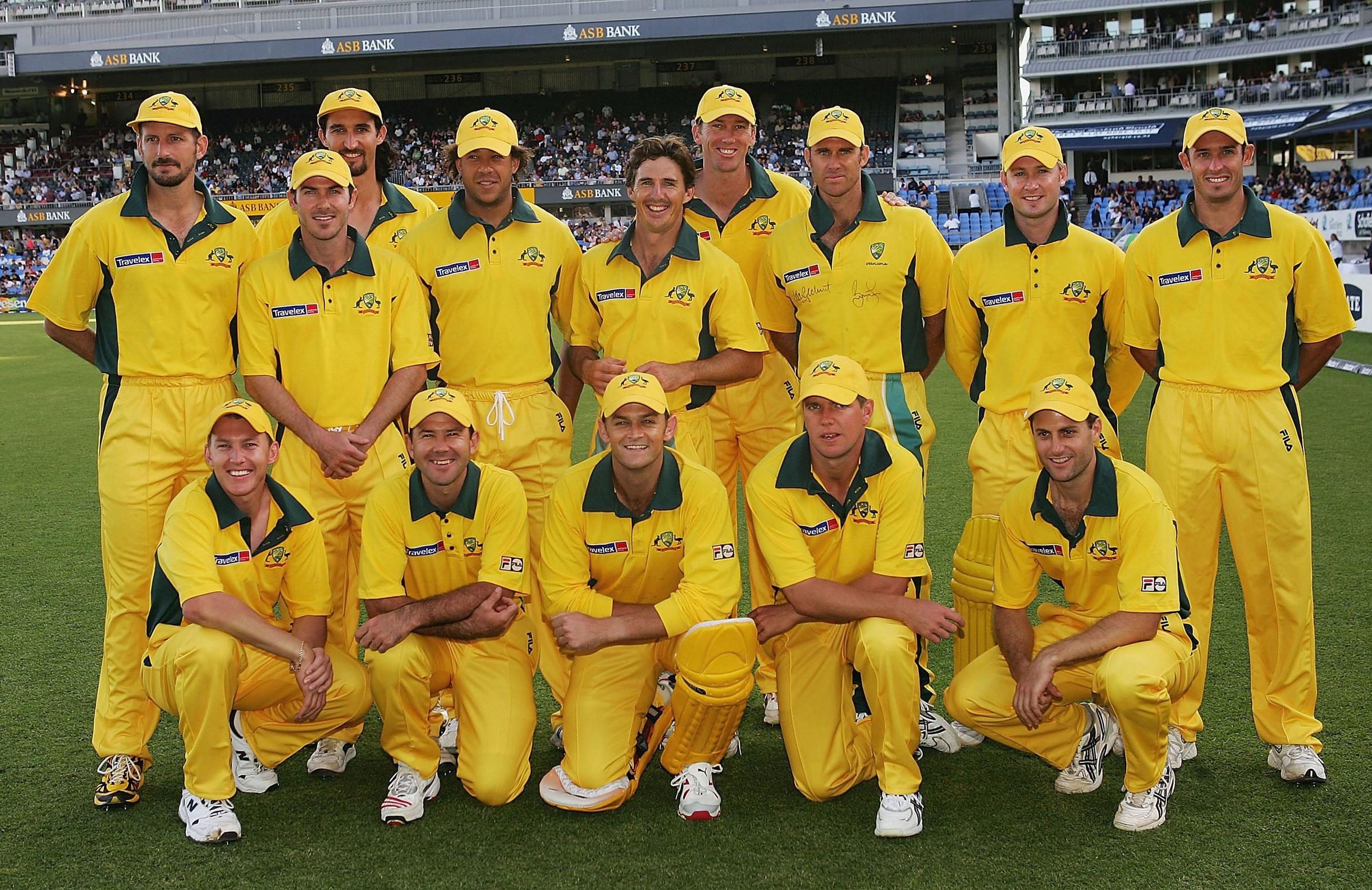 Australia's first T20I XI // Getty
