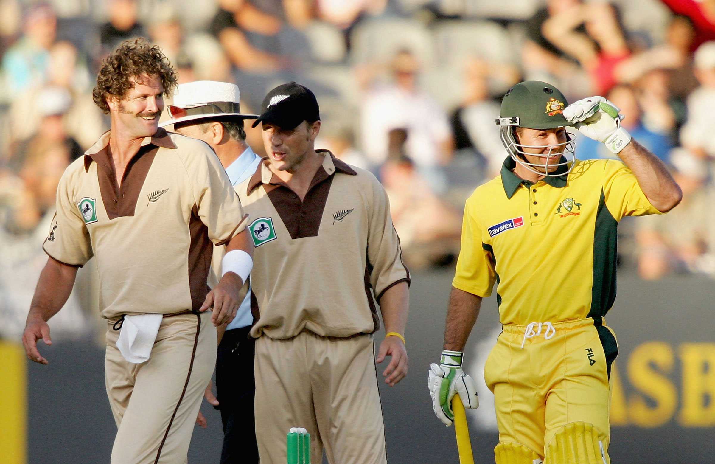 Ricky Ponting starred in that first T20I // Getty