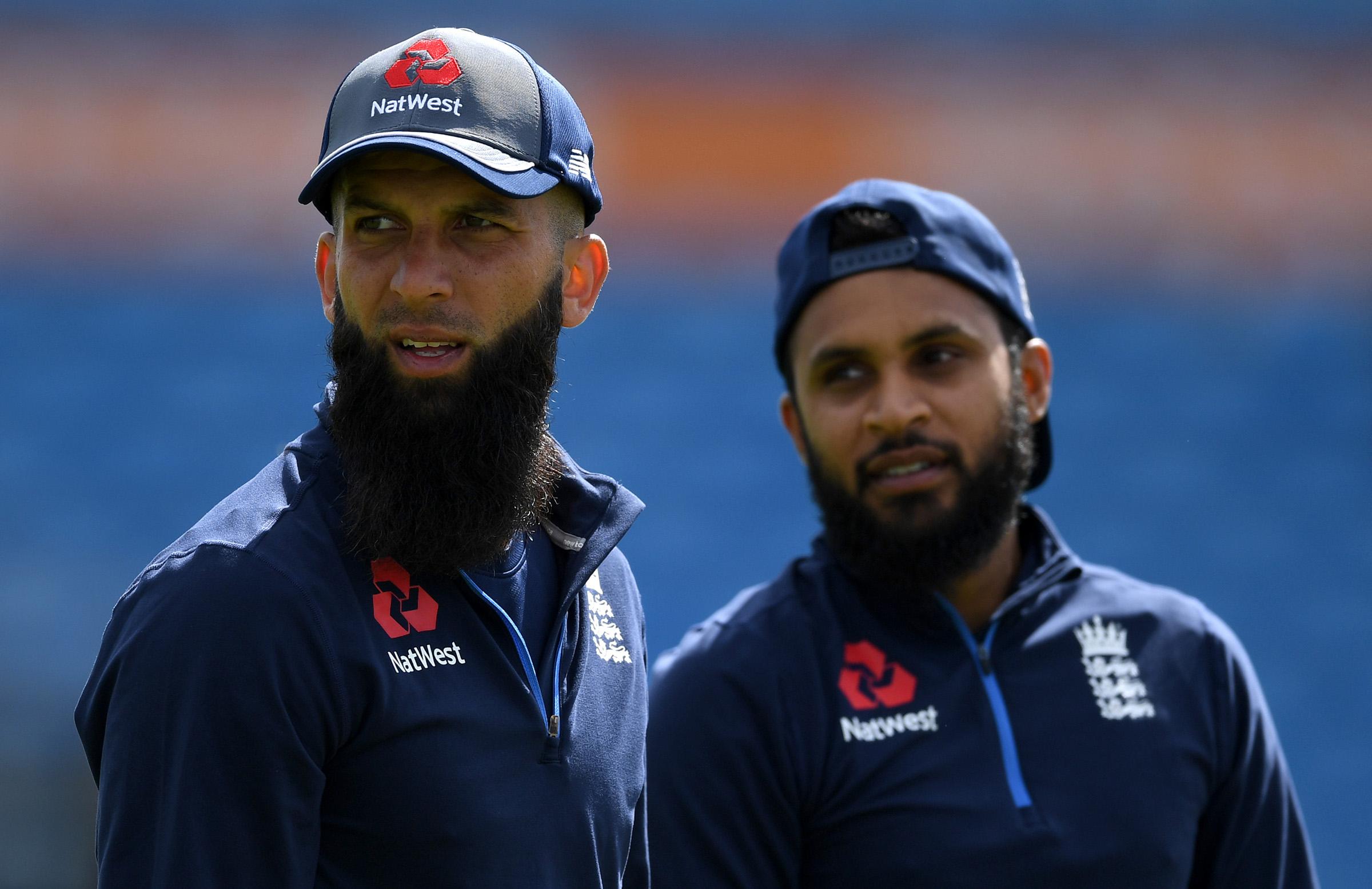 England spinner Moeen Ali and Adil Rashid // Getty