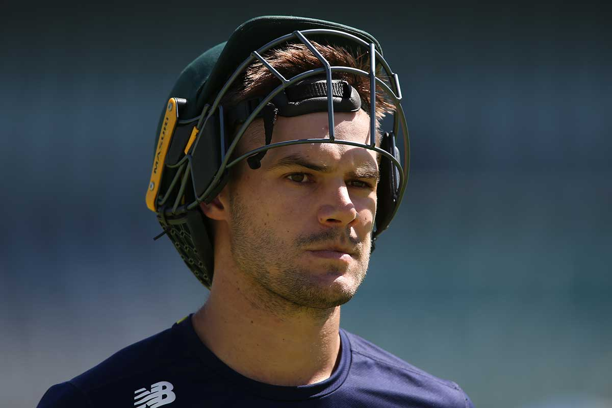 Aiden Markram takes the ODI captaincy against India // Getty