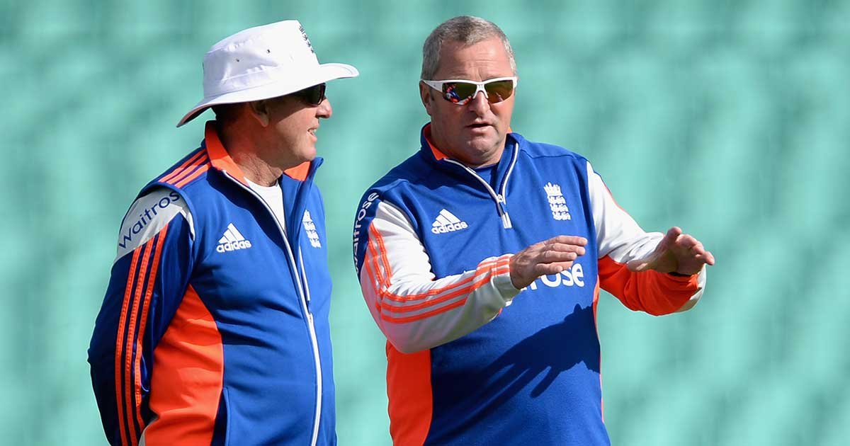 England duo Trevor Bayliss and Paul Farbrace // Getty