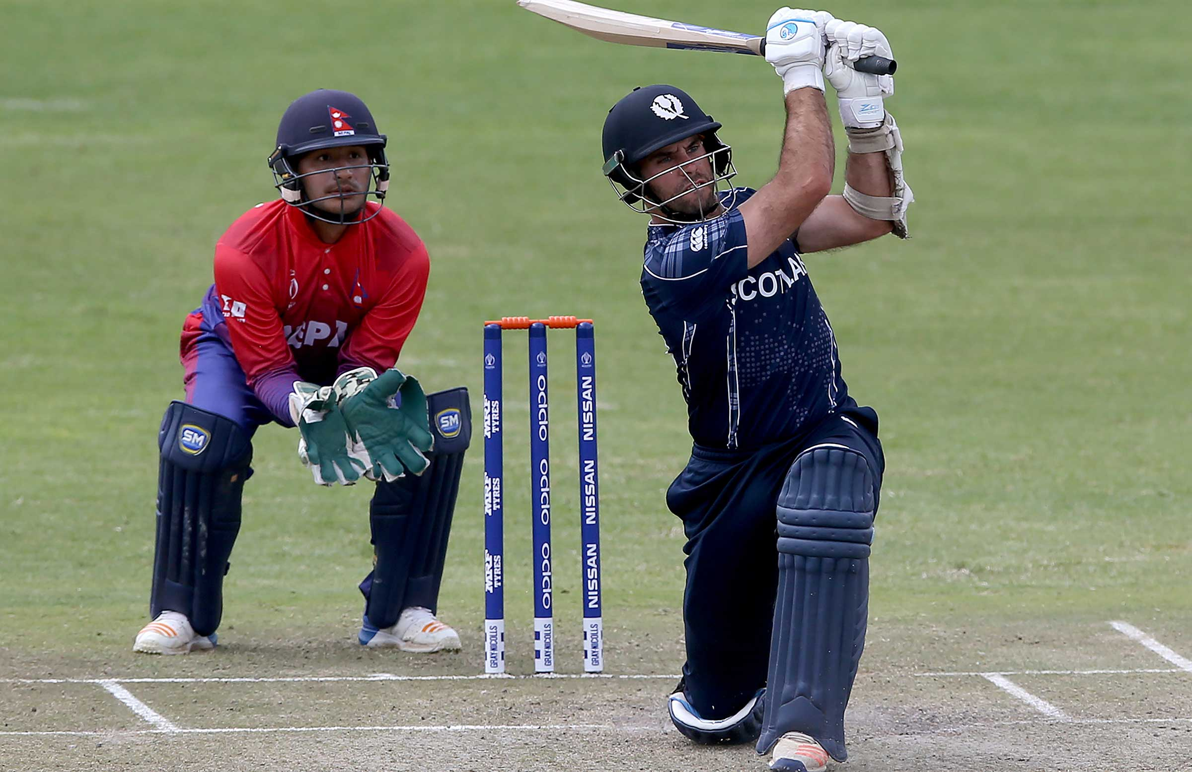 Kyle Coetzer hits out against Nepal // Getty