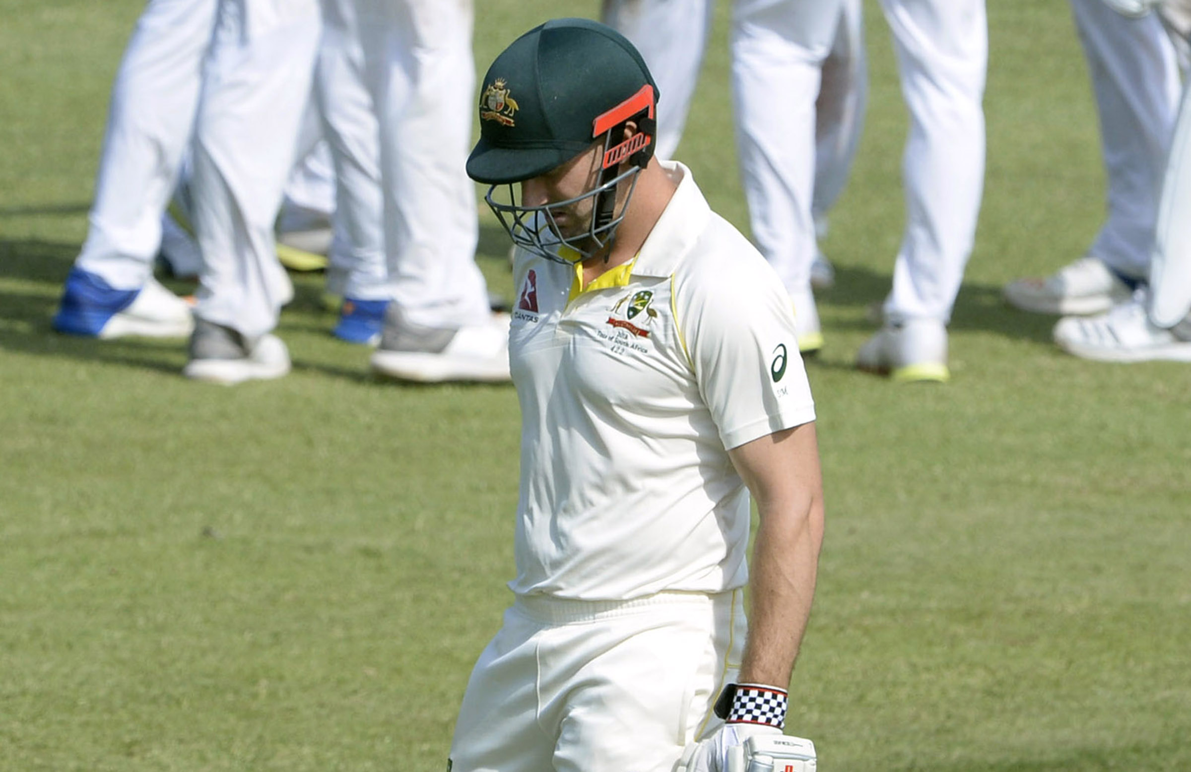 Shaun Marsh was dismissed with the first ball of the day // Getty