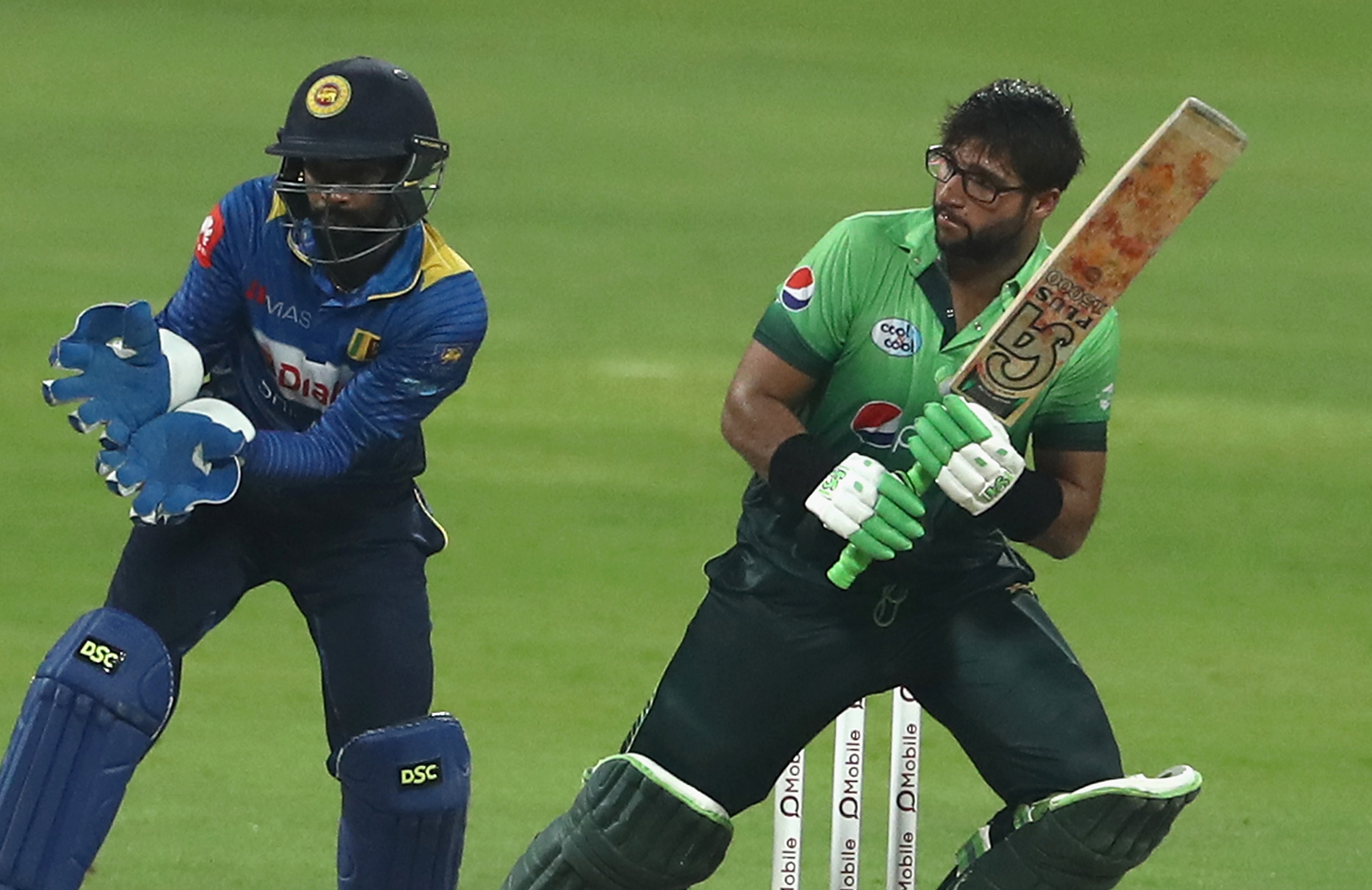 Imam in action for Pakistan // Getty