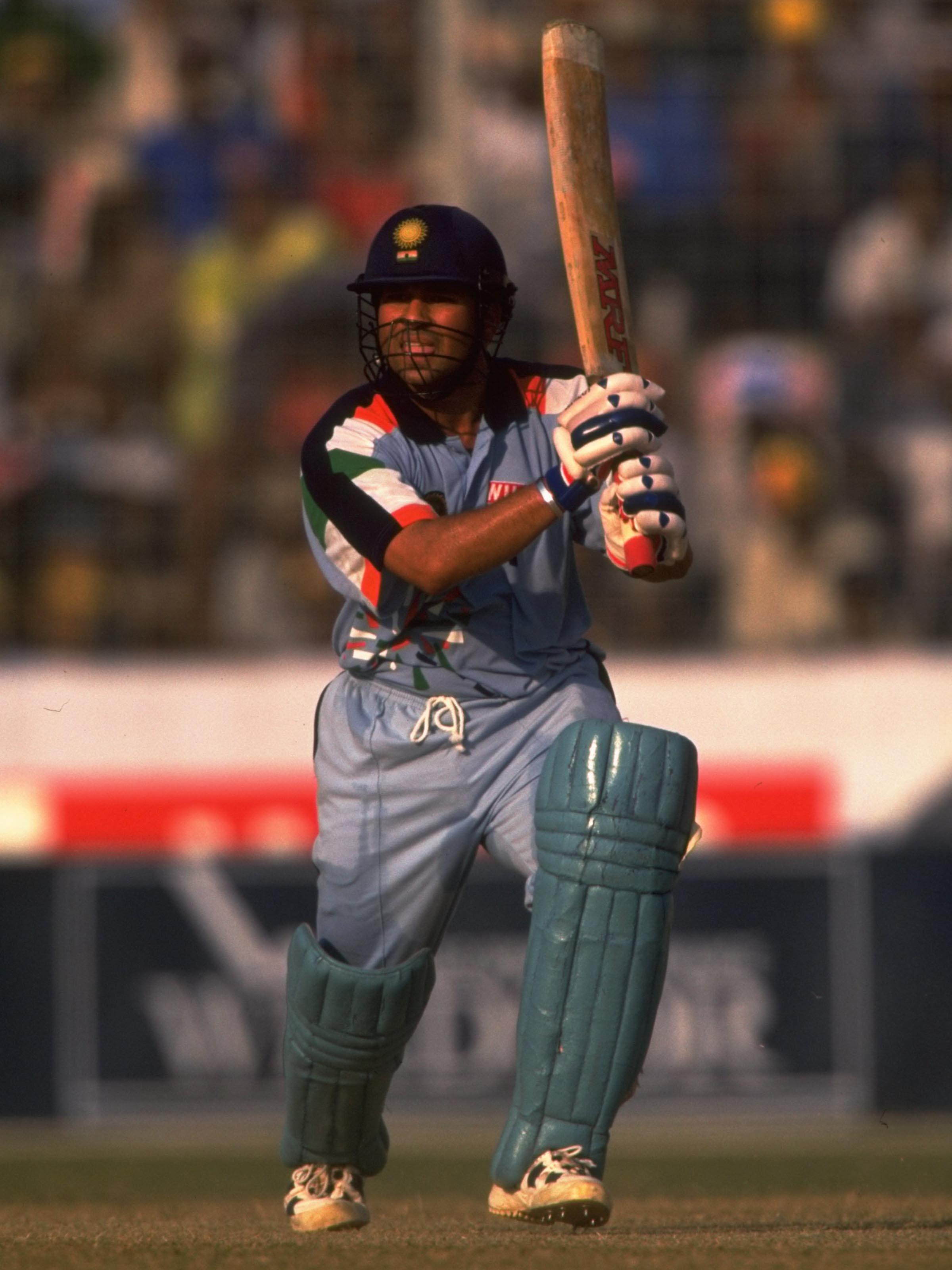 Tendulkar scored four hundreds in seven ODIs against Australia in 1998 // Getty