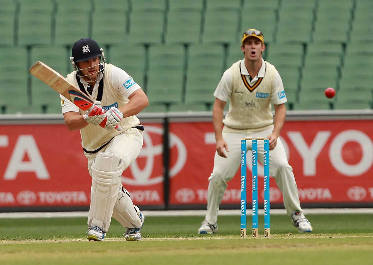 Finch in action for Victoria in 2012 // Getty