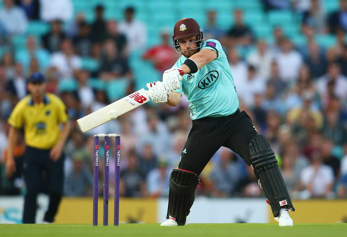Finch returns to Surrey this winter // Getty