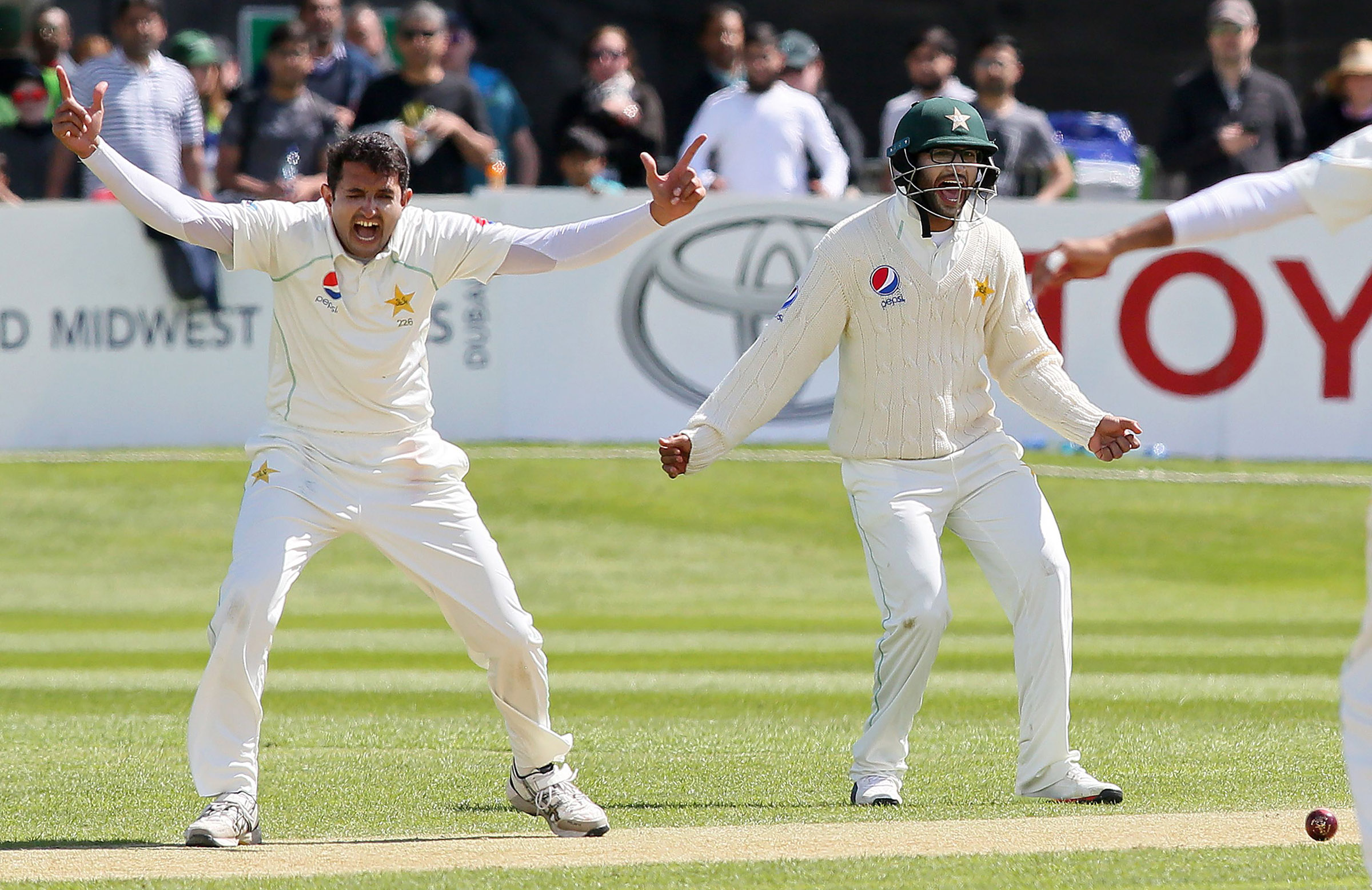Mohammad Abbas was crucial with the ball for Pakistan // Getty