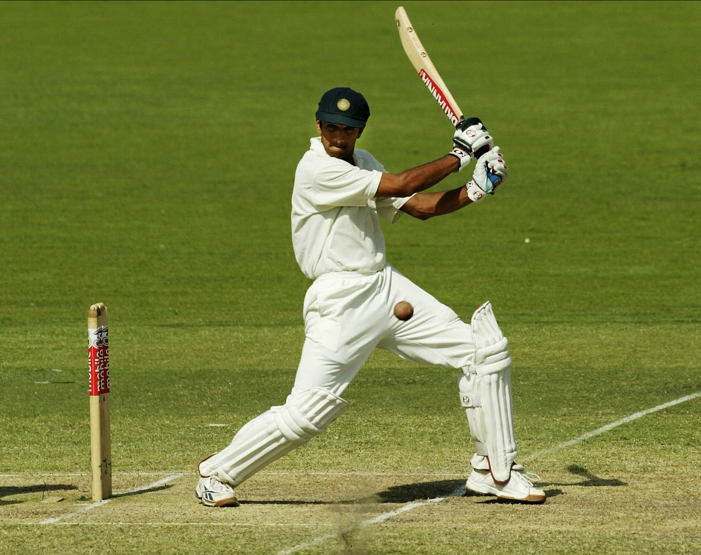 Dravid enjoyed the performance of his life at Adelaide Oval // Getty