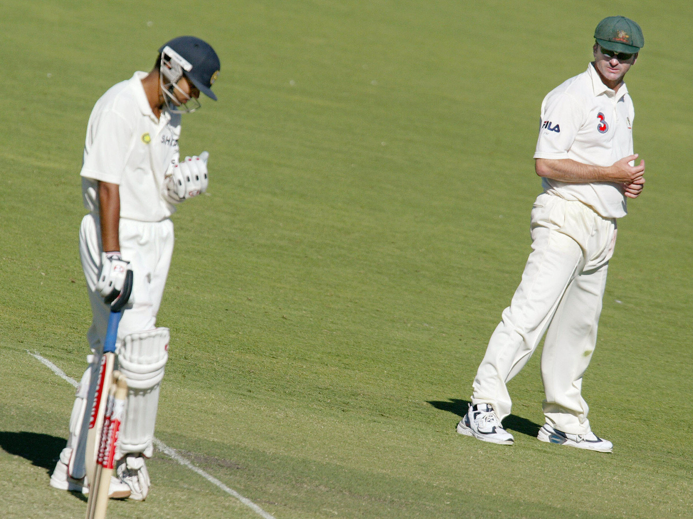 Dravid defied Australia - and Waugh - across two innings in Adelaide // Getty