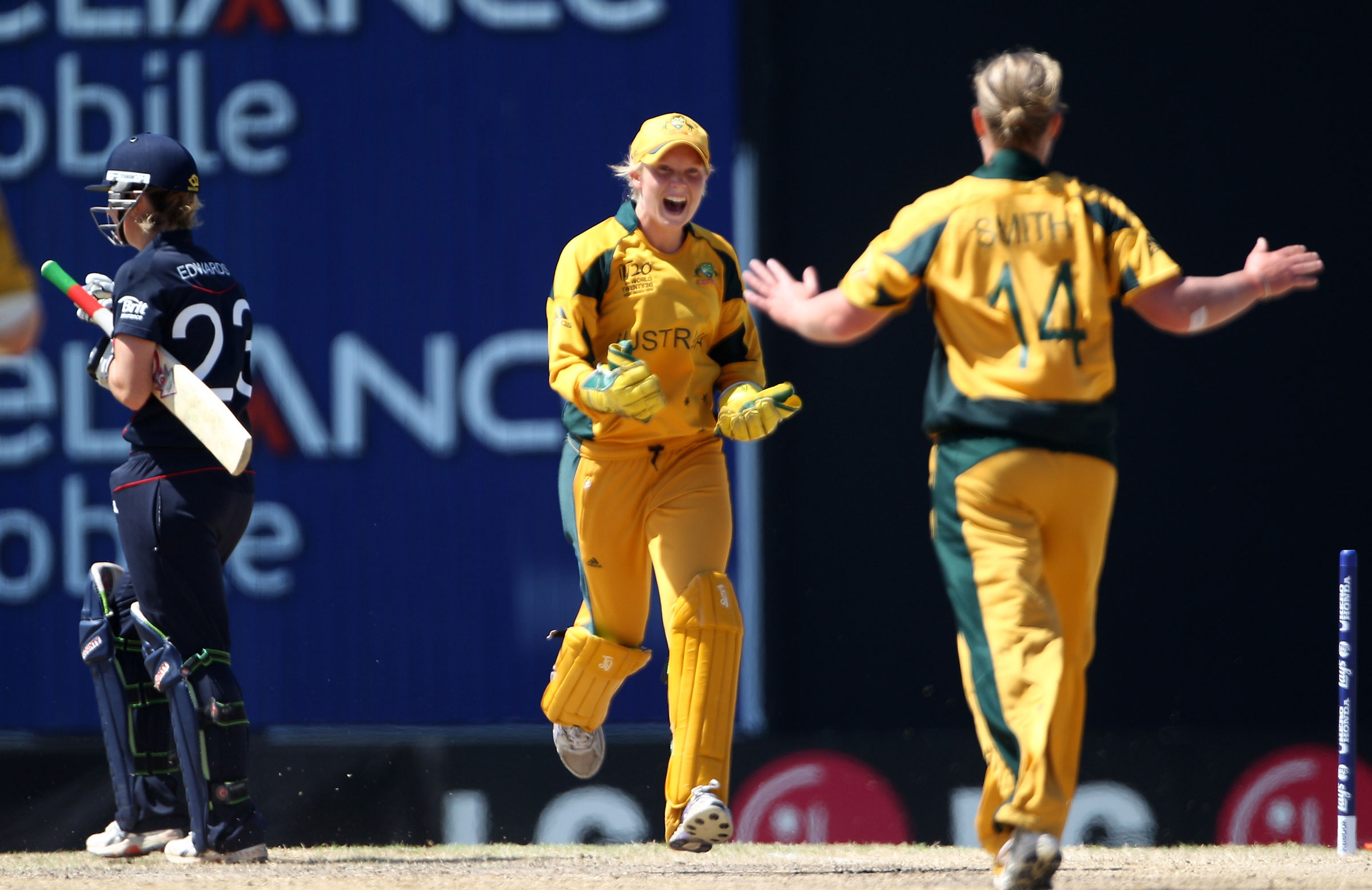 Australia started the tournament with the tightest of victories over England // Getty