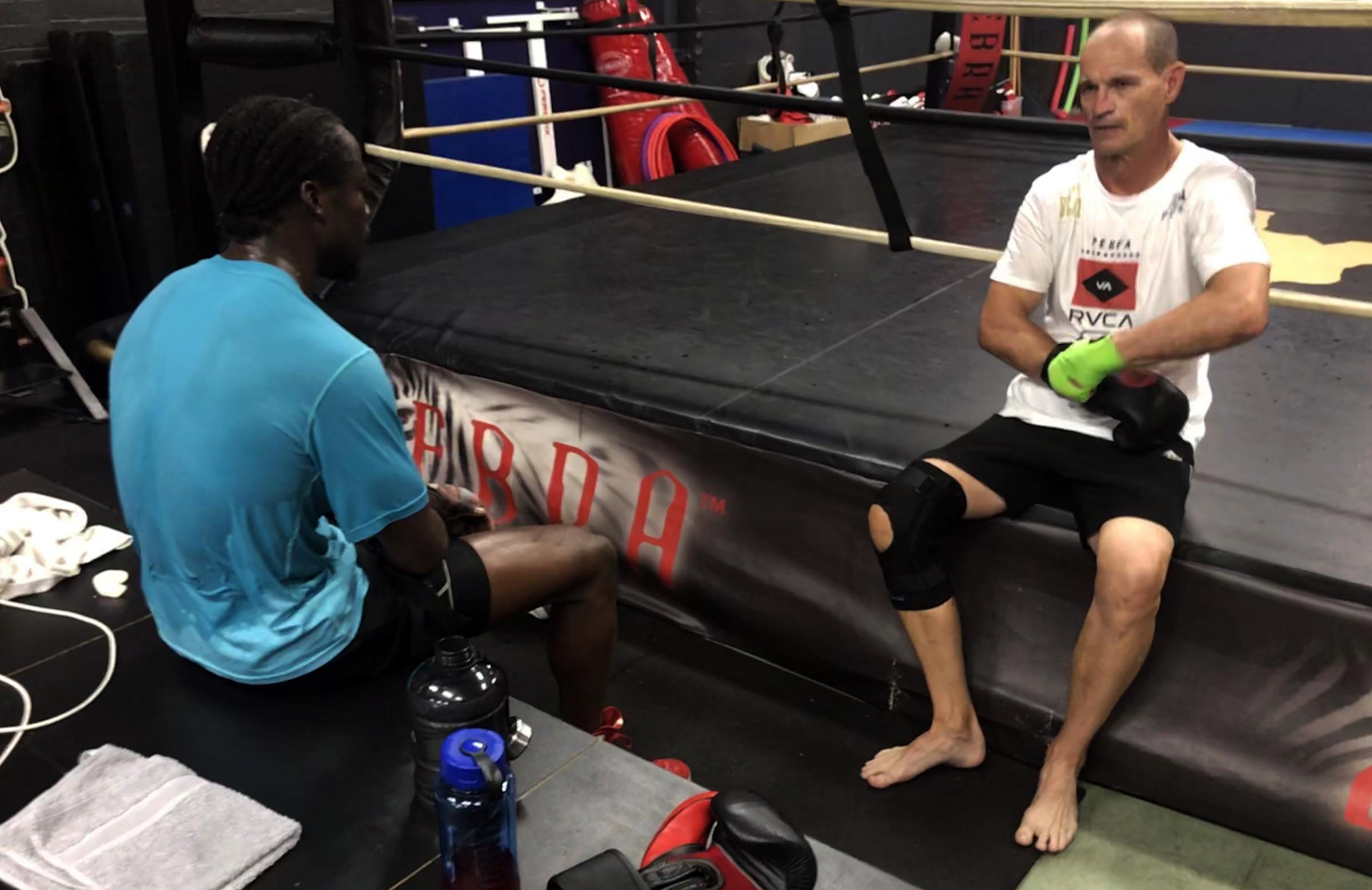 Wessels is preparing this fighter for an upcoming bout // cricket.com.au