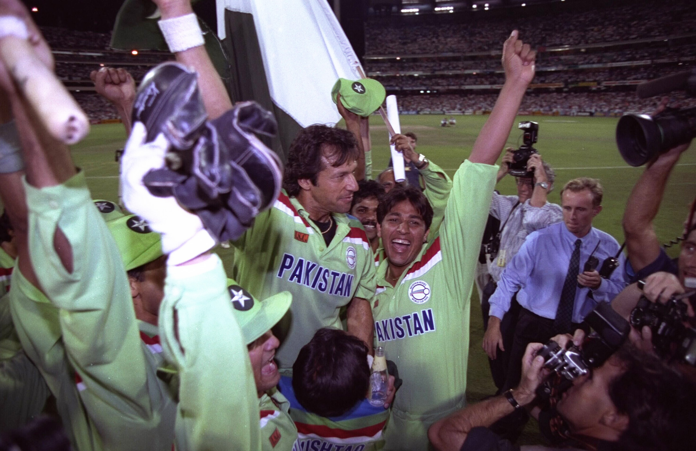 Imran always believed World Cup success was his destiny // Getty