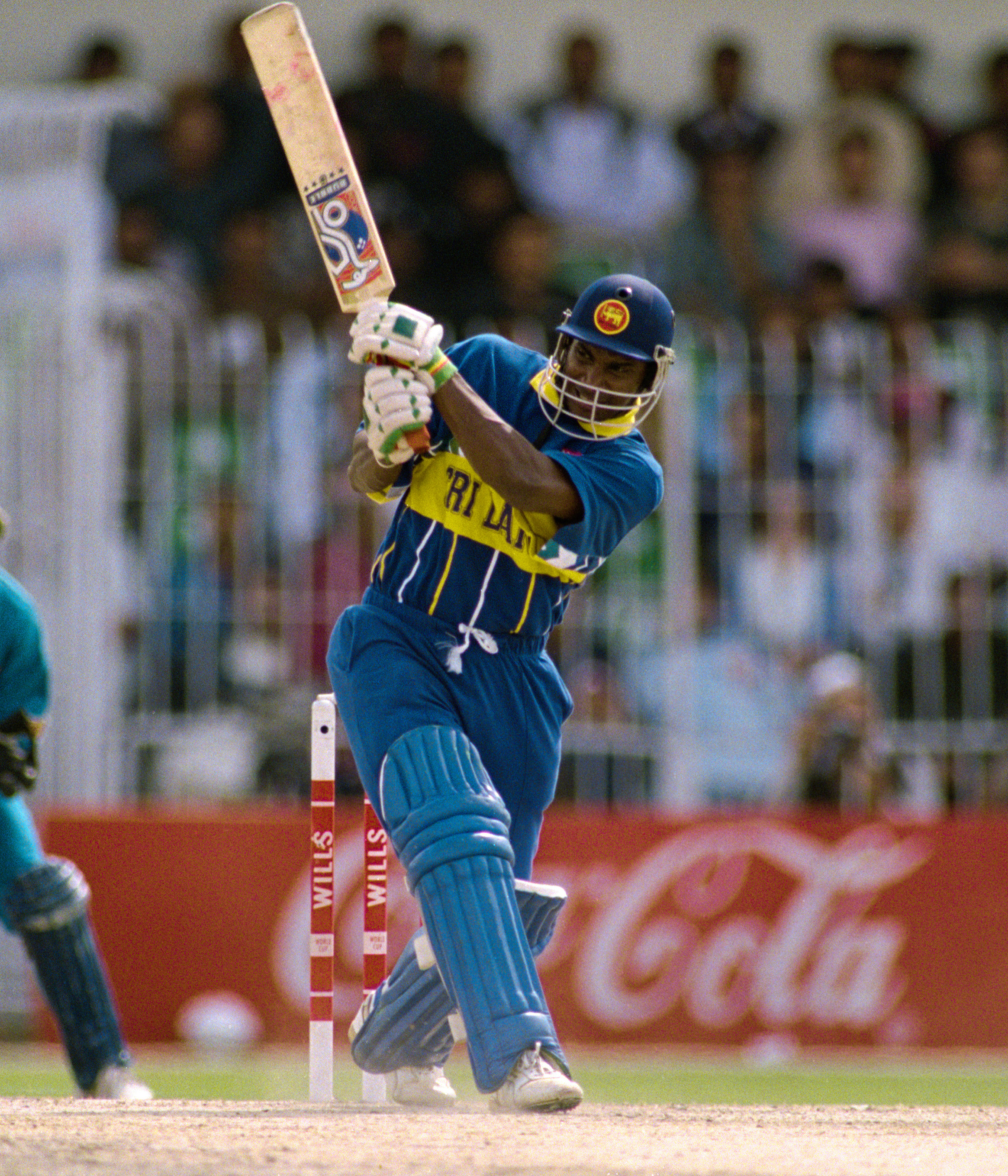 Sanath Jayasuriya was the star of the 1996 Singer Cup // Getty