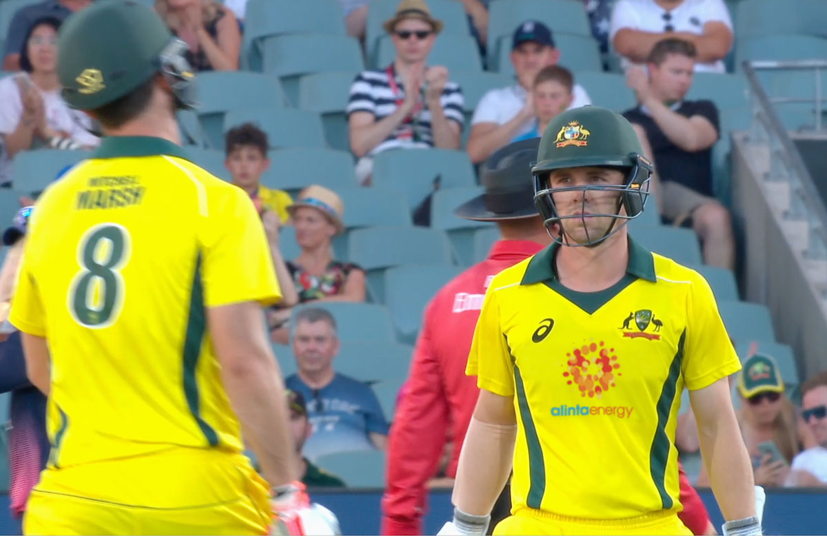 A new look for Australia's ODI shirts // Getty