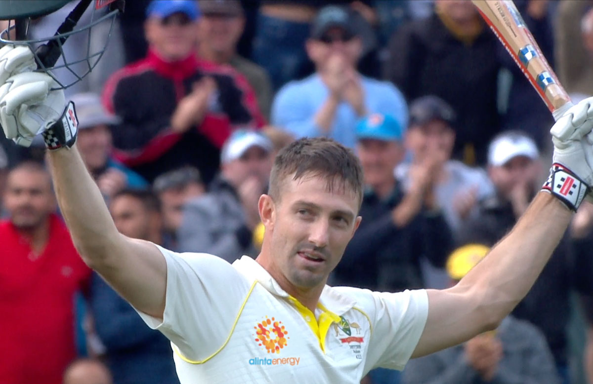 A new look for Australia's Test shirts // Getty