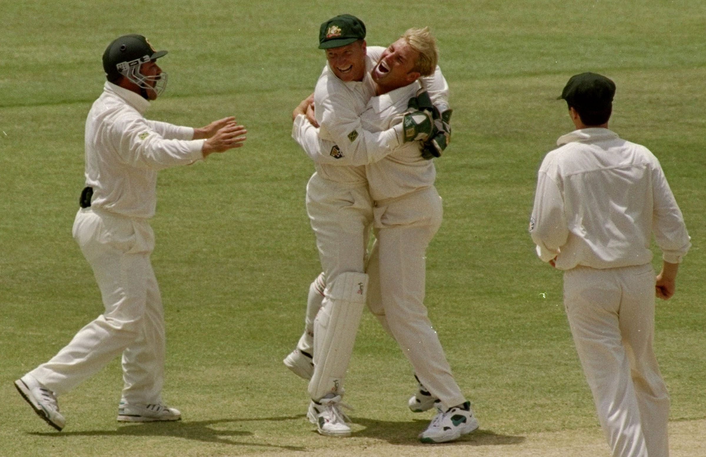 The Healy-Warne combination was key to Australia's success // Getty