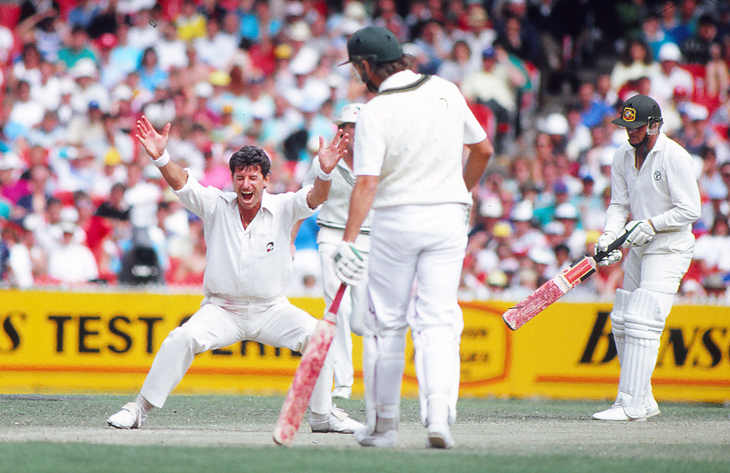 Hadlee tormented Australia during his career // Getty