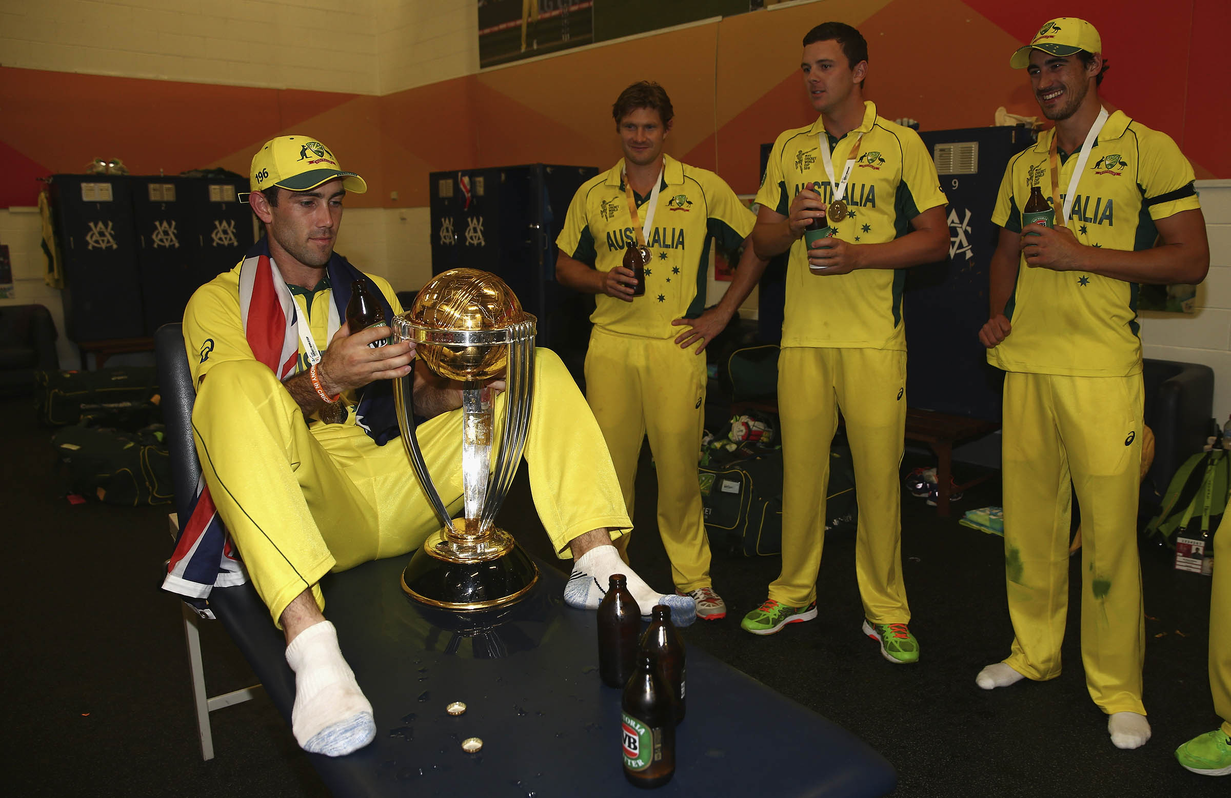 Maxwell savours World Cup glory in 2015 // Getty