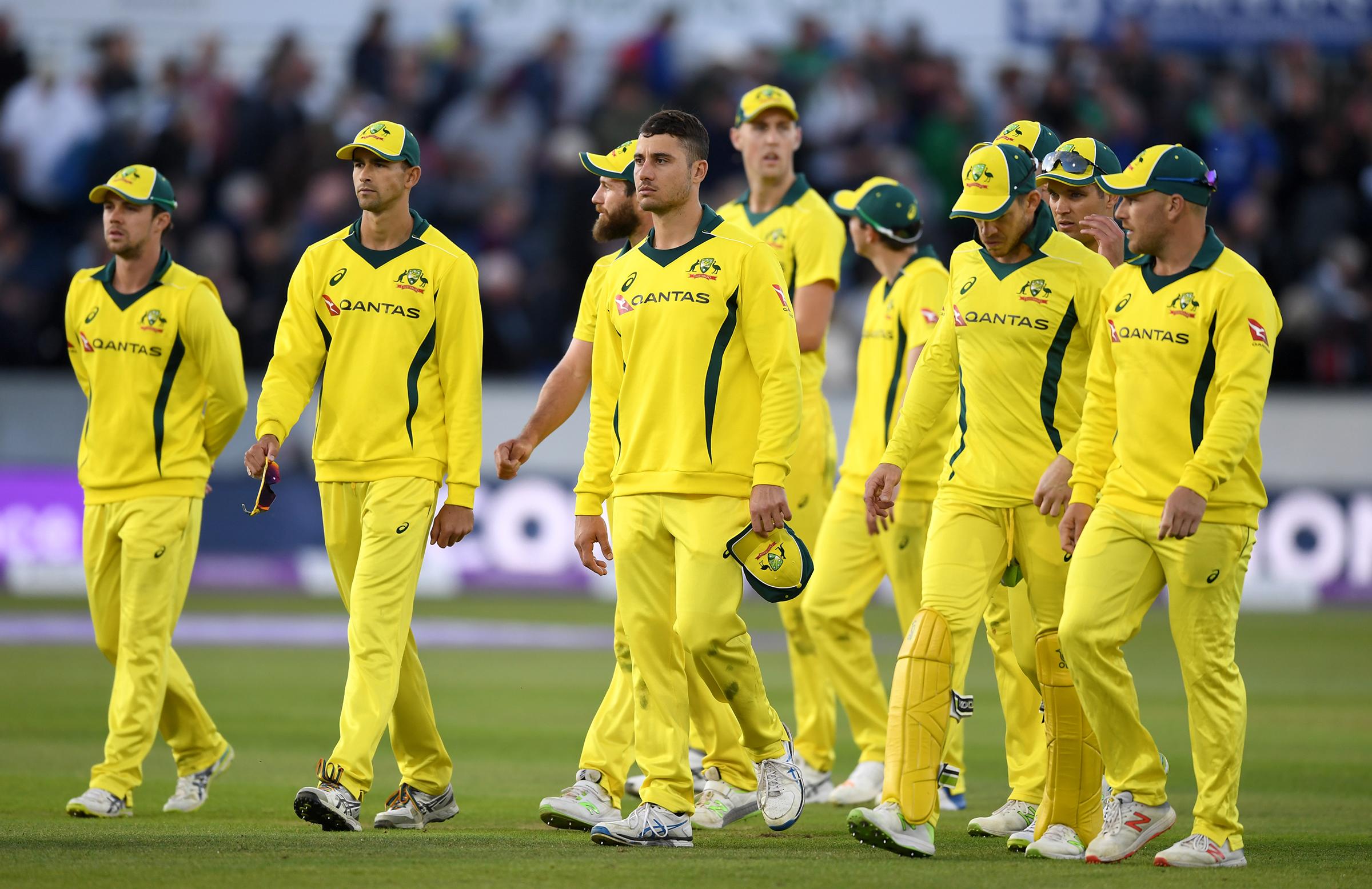 Australia slumped to their fourth straight loss // Getty