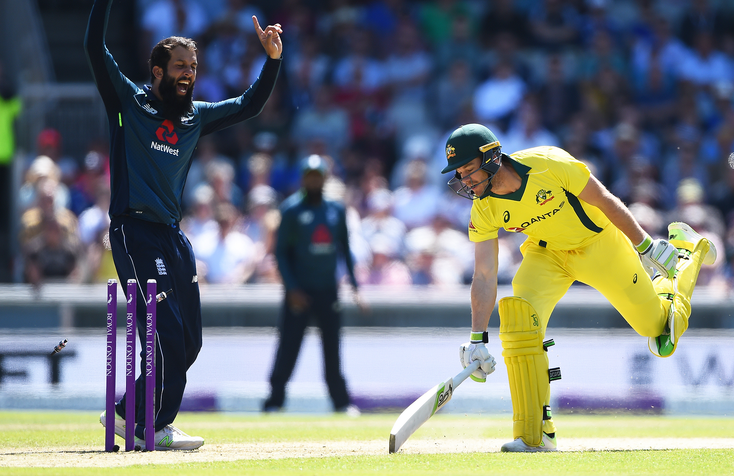 Paine was run out by Buttler for 1 // Getty