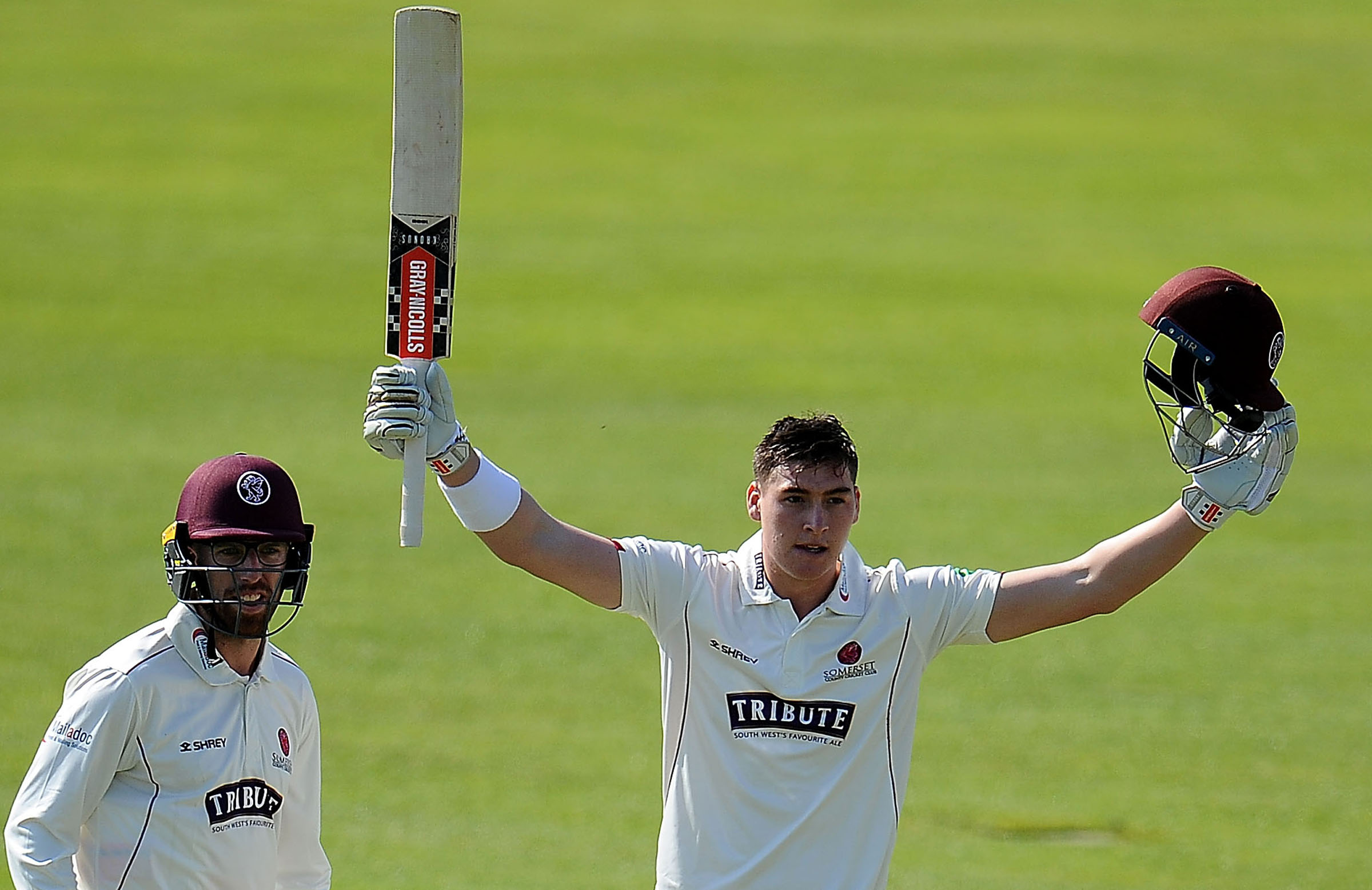 Renshaw scored hundreds in his first two county matches // Getty